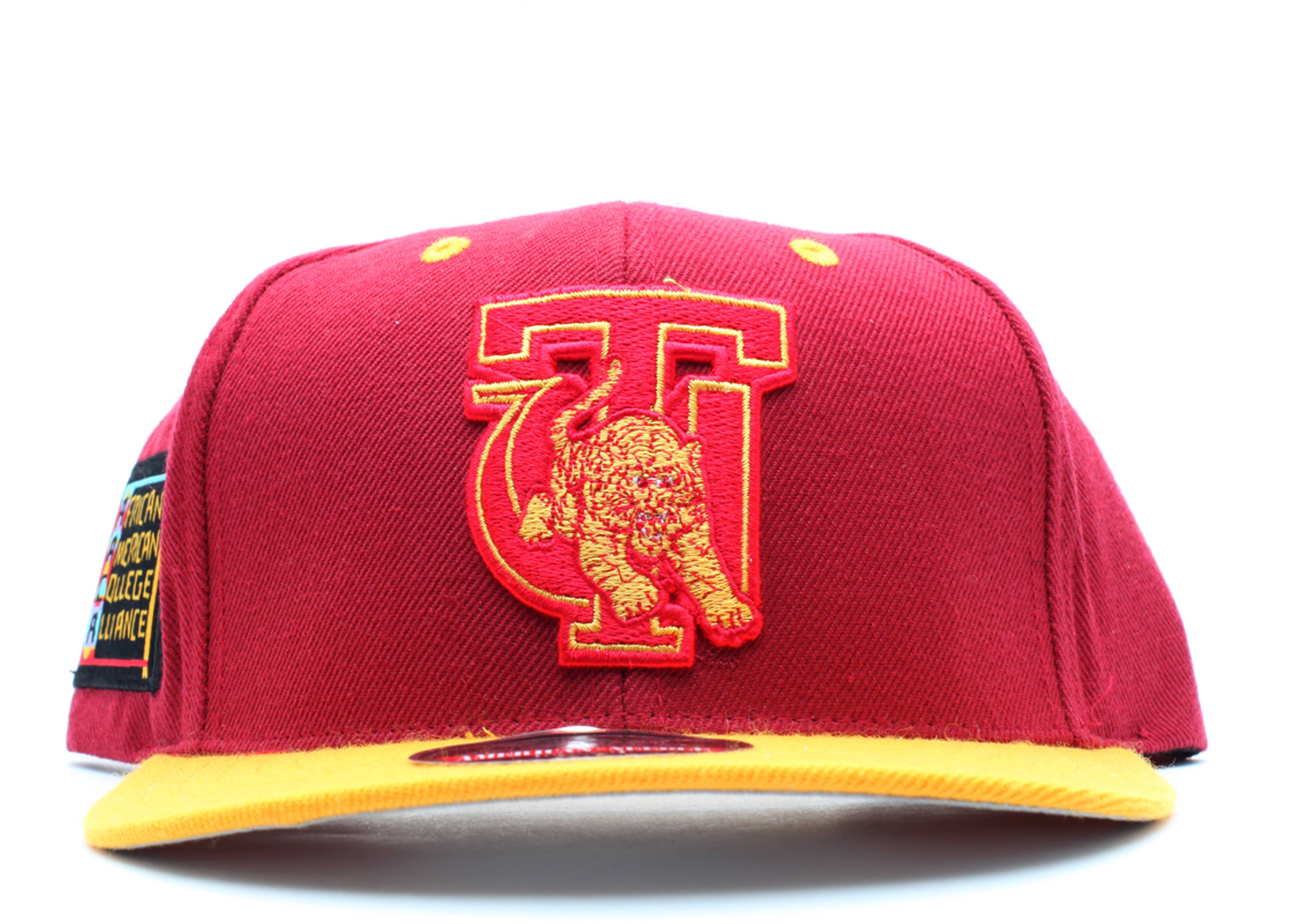 "tuskegee golden tigers snap-back ""aaca"""