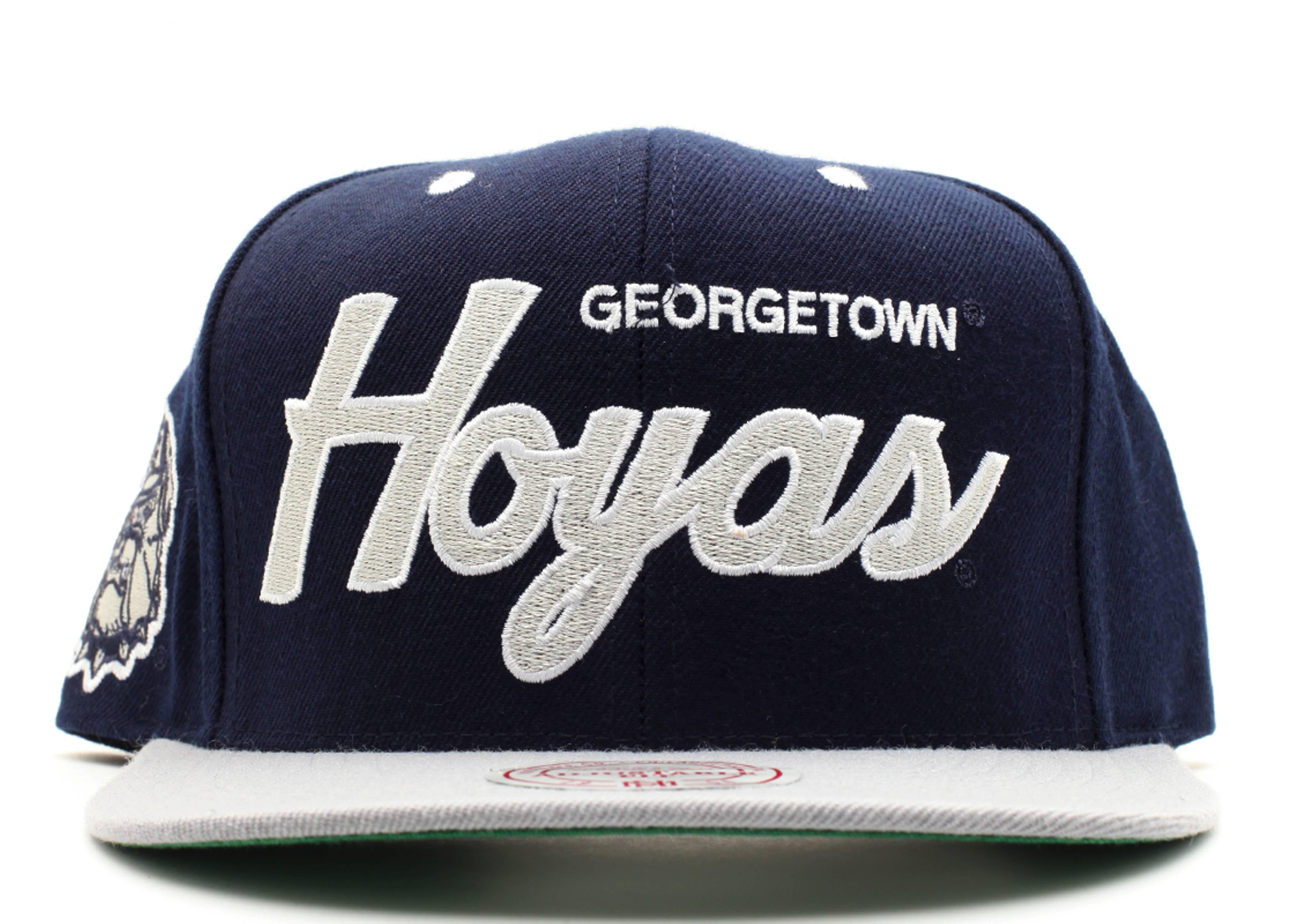 georgetown hoyas snap-back