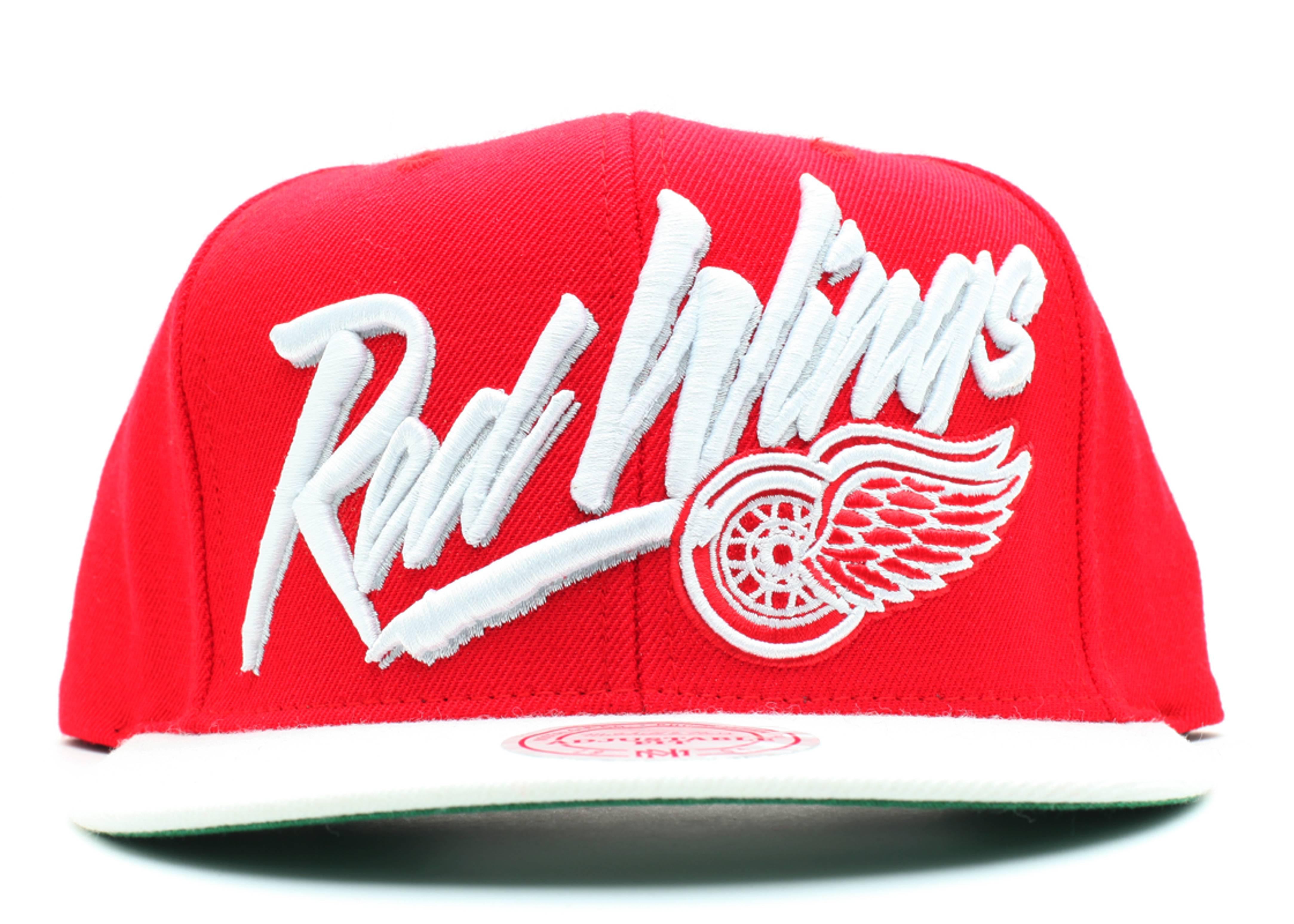 detroit redwings snap-back