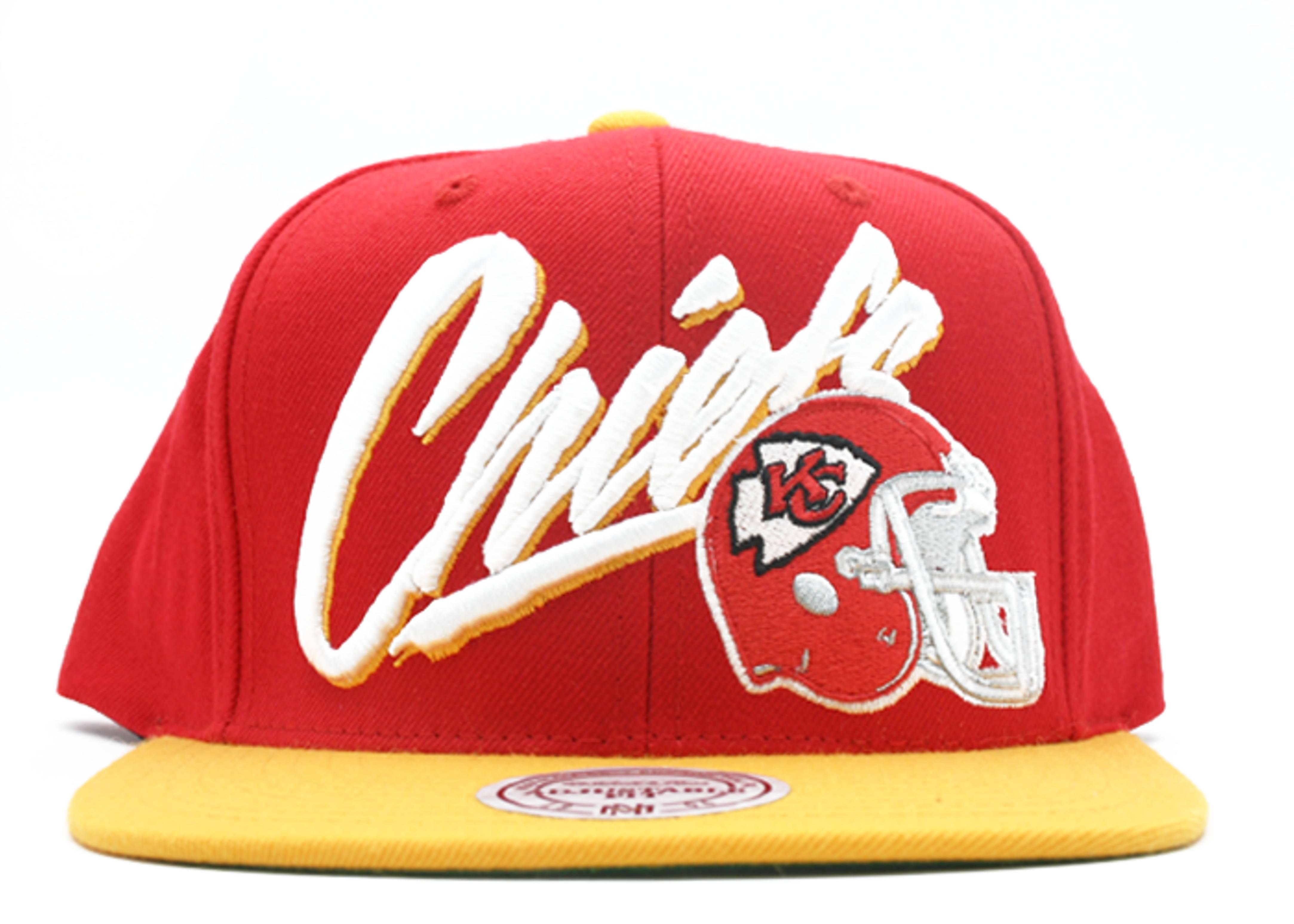 low priced 1a9b0 356d6 Kansas City Chiefs Snap-back - Mitchell & Ness ...
