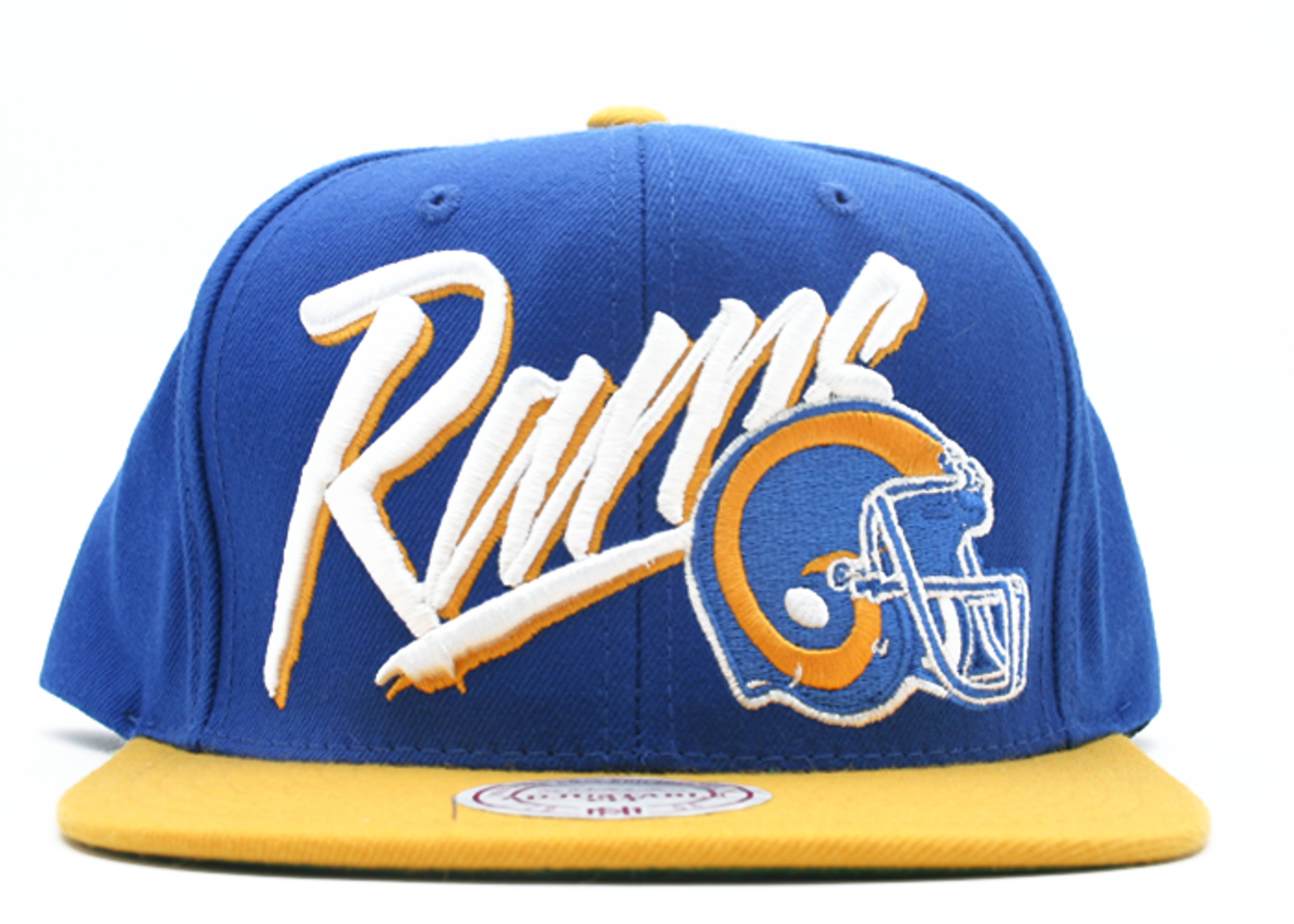 brand new ab15a aa965 Los Angeles Rams Snap-back - Mitchell & Ness - ne99mtc6laram ...