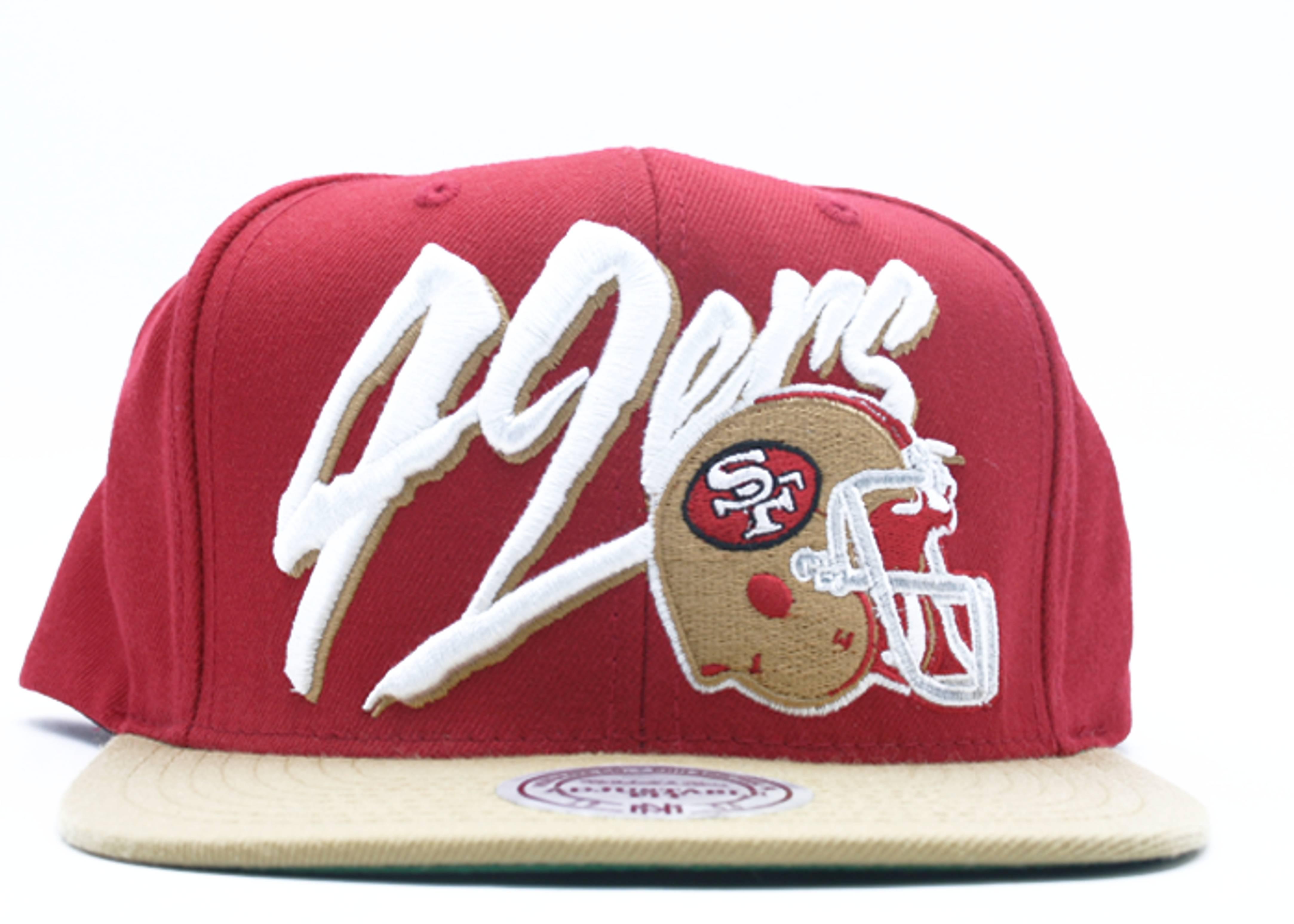 san franscisco 49ers snap-back