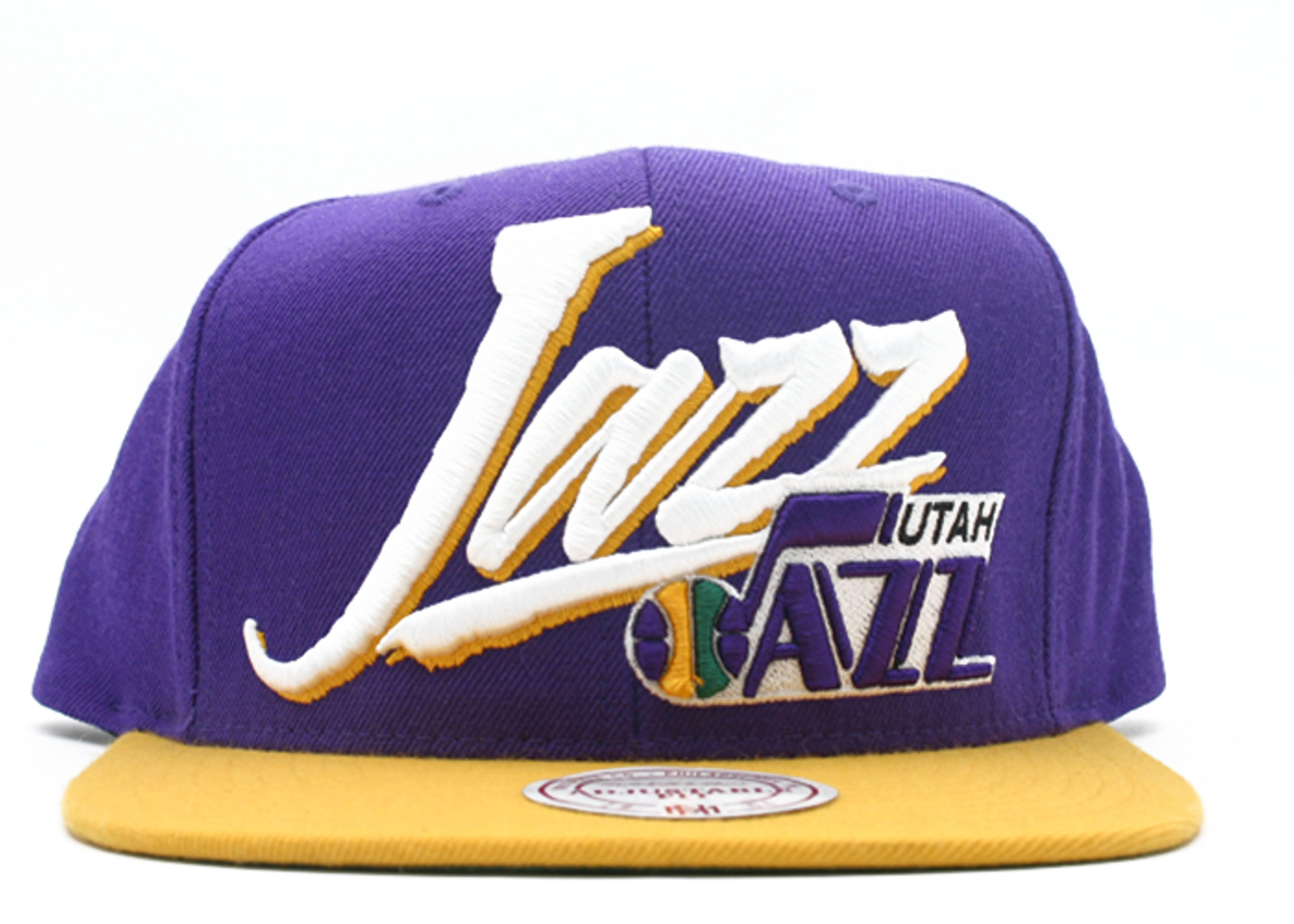 utah jazz snap-back