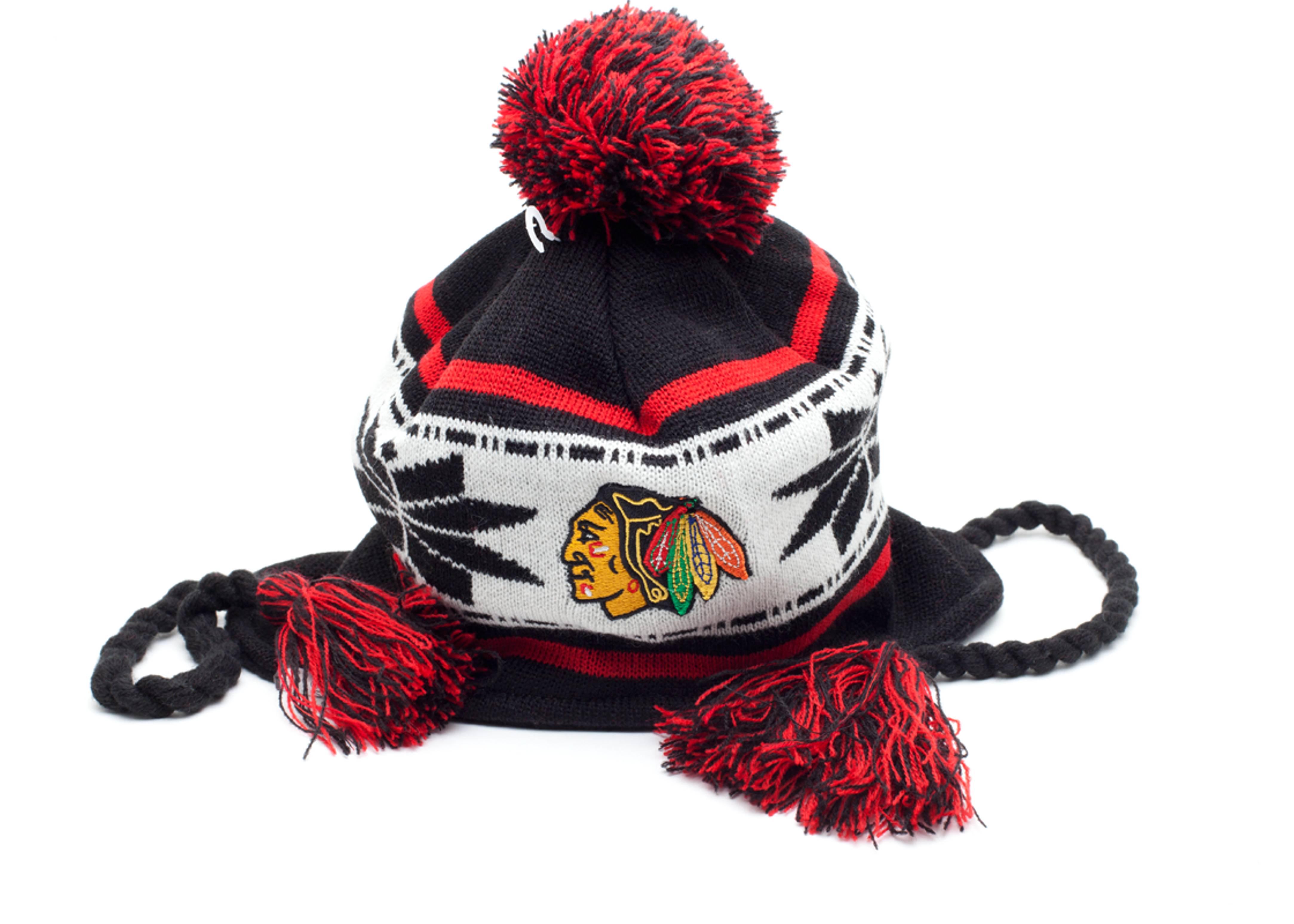 chicago blackhawks beanie