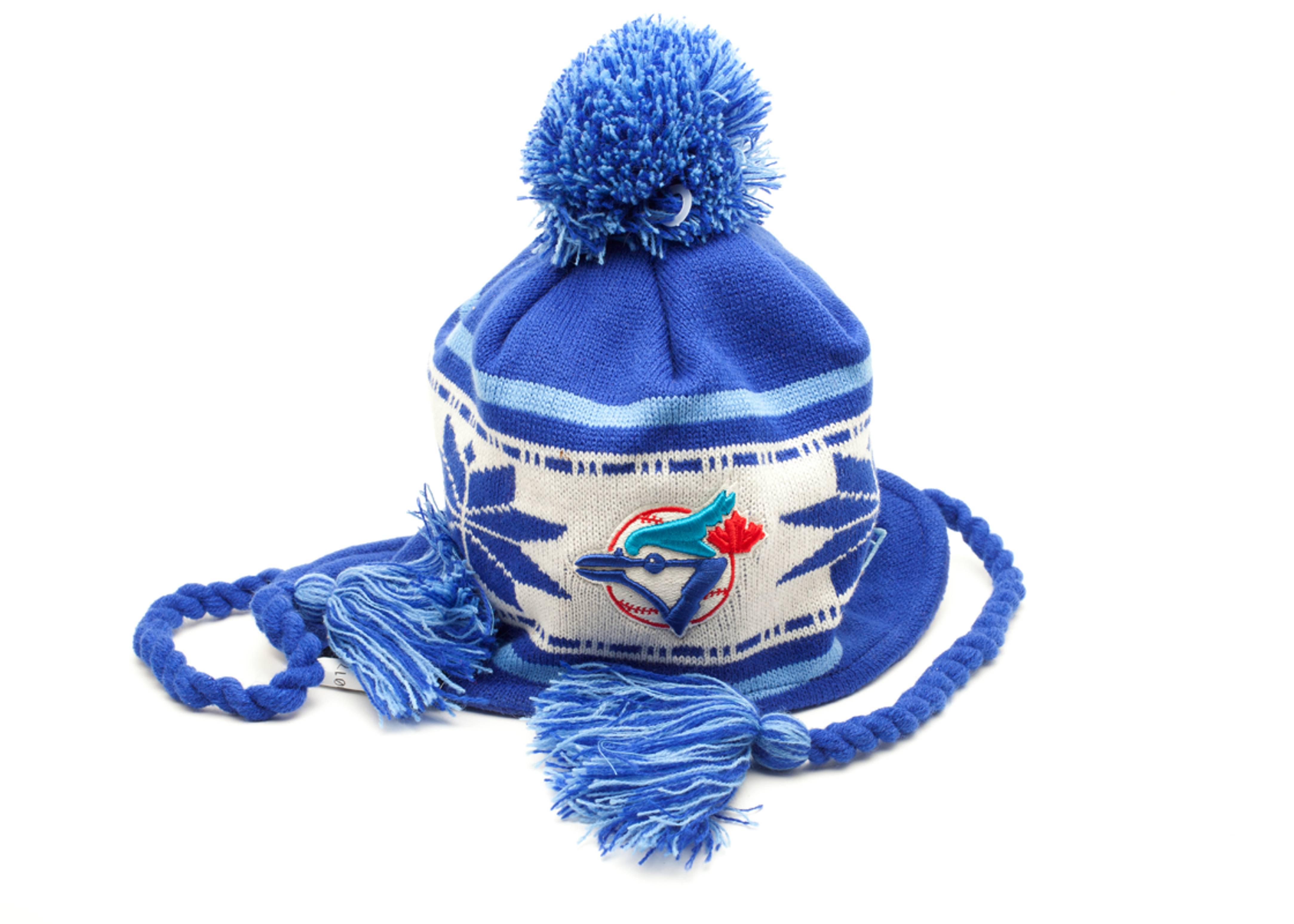 tornoto blue jays pom knit beanie