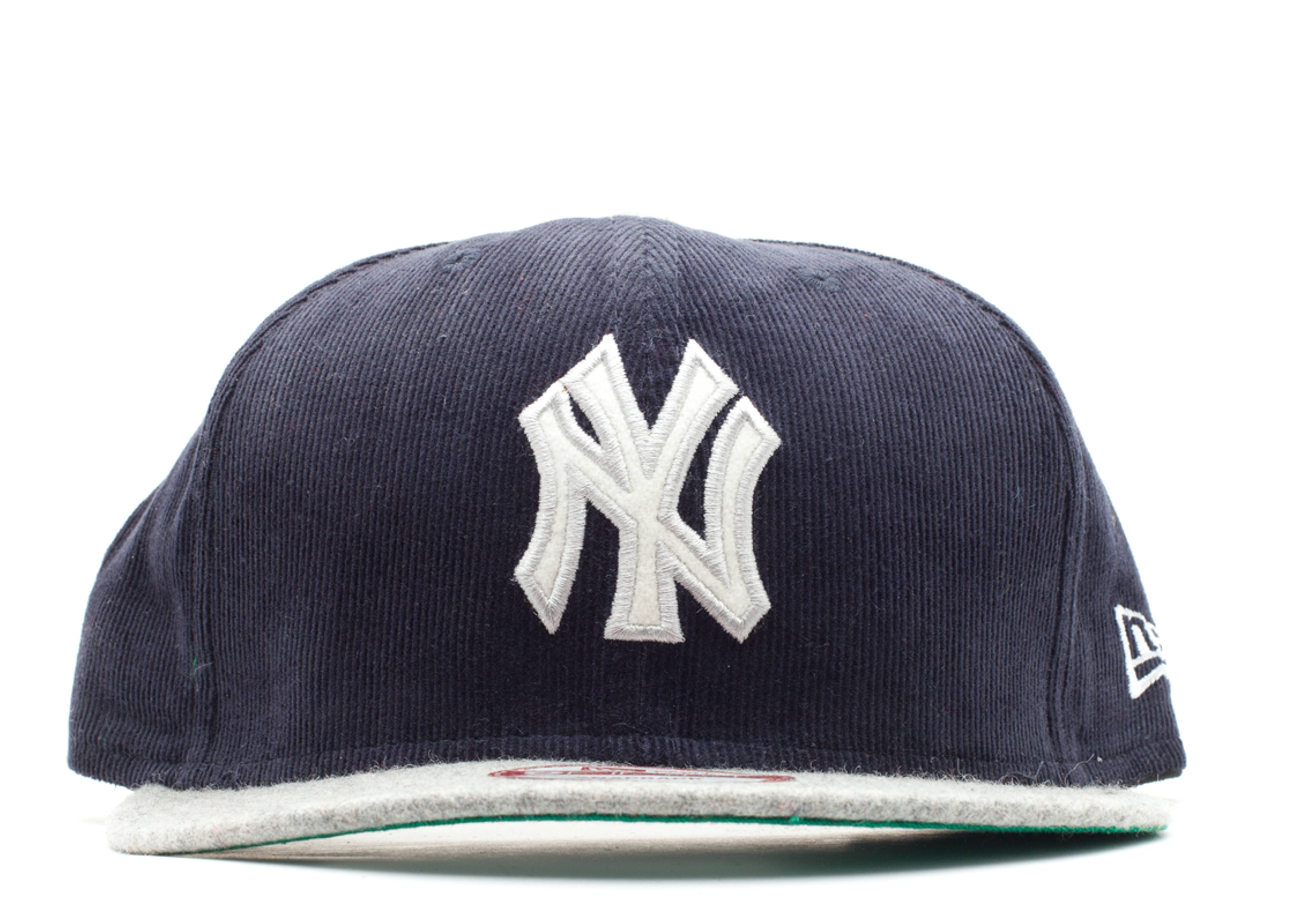 new york yankee corduroy snap-back