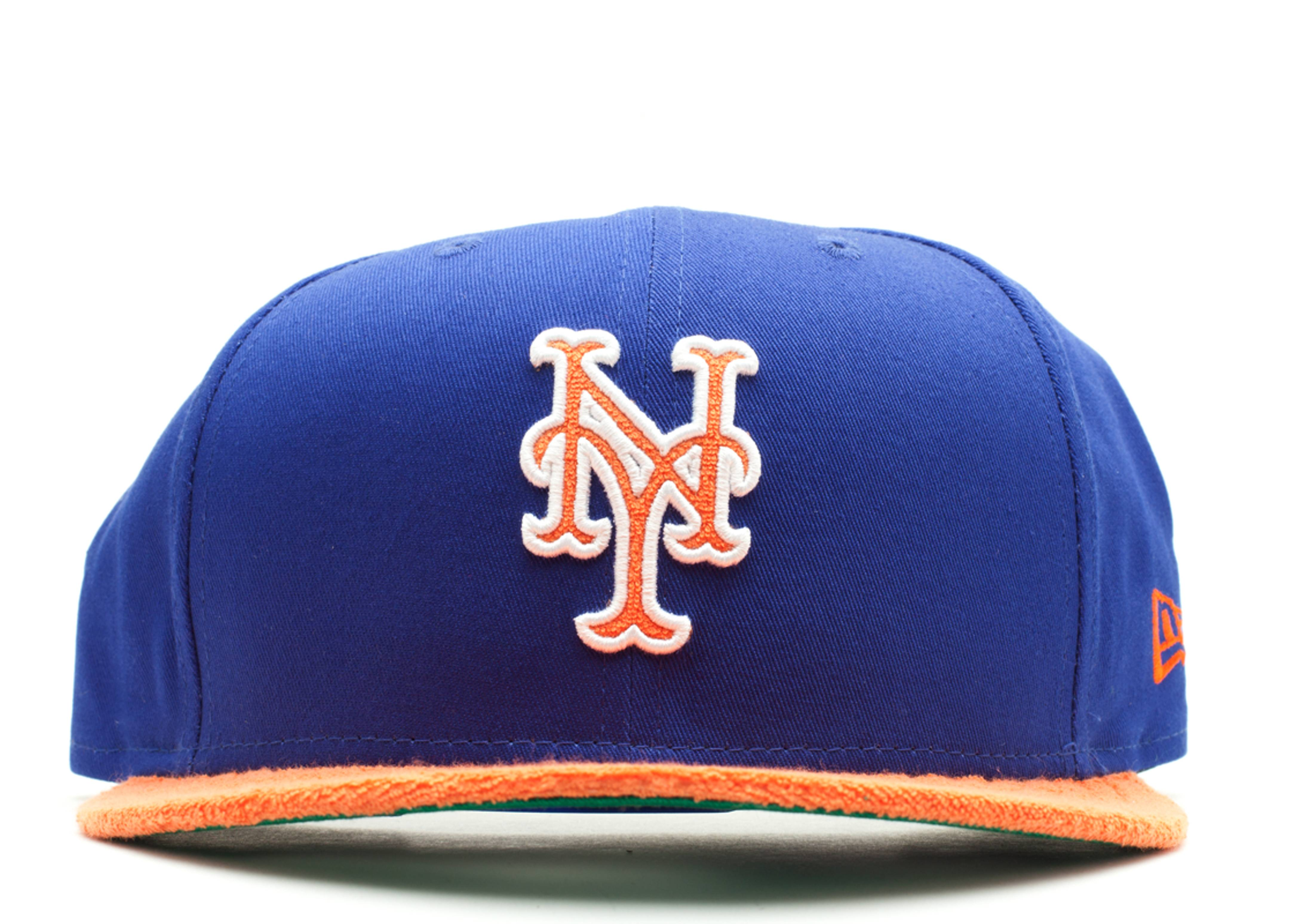 "new york mets retro swathe snap-back ""terry cloth"""