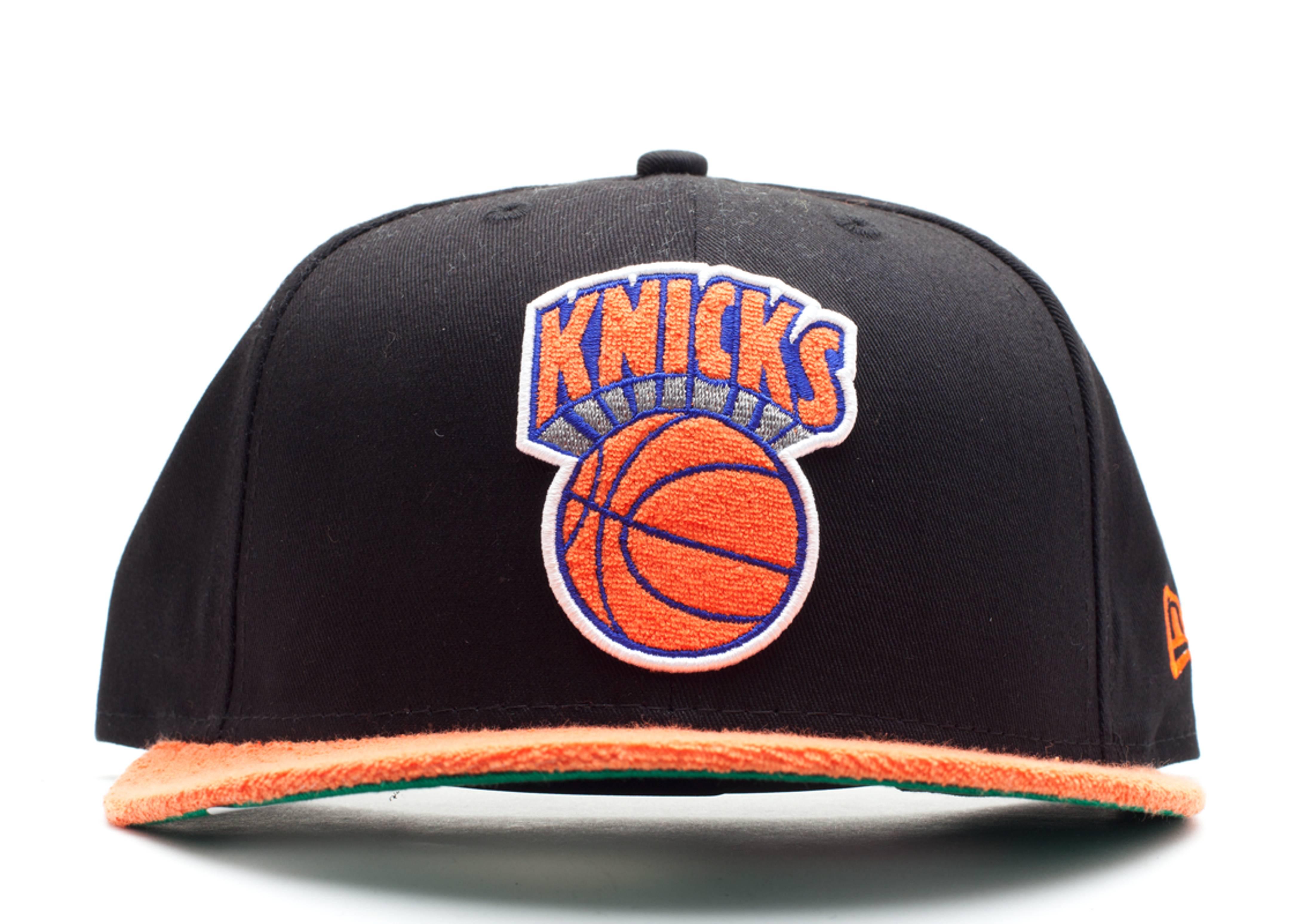 "new york knicks retro swathe snap-back ""terry cloth"""