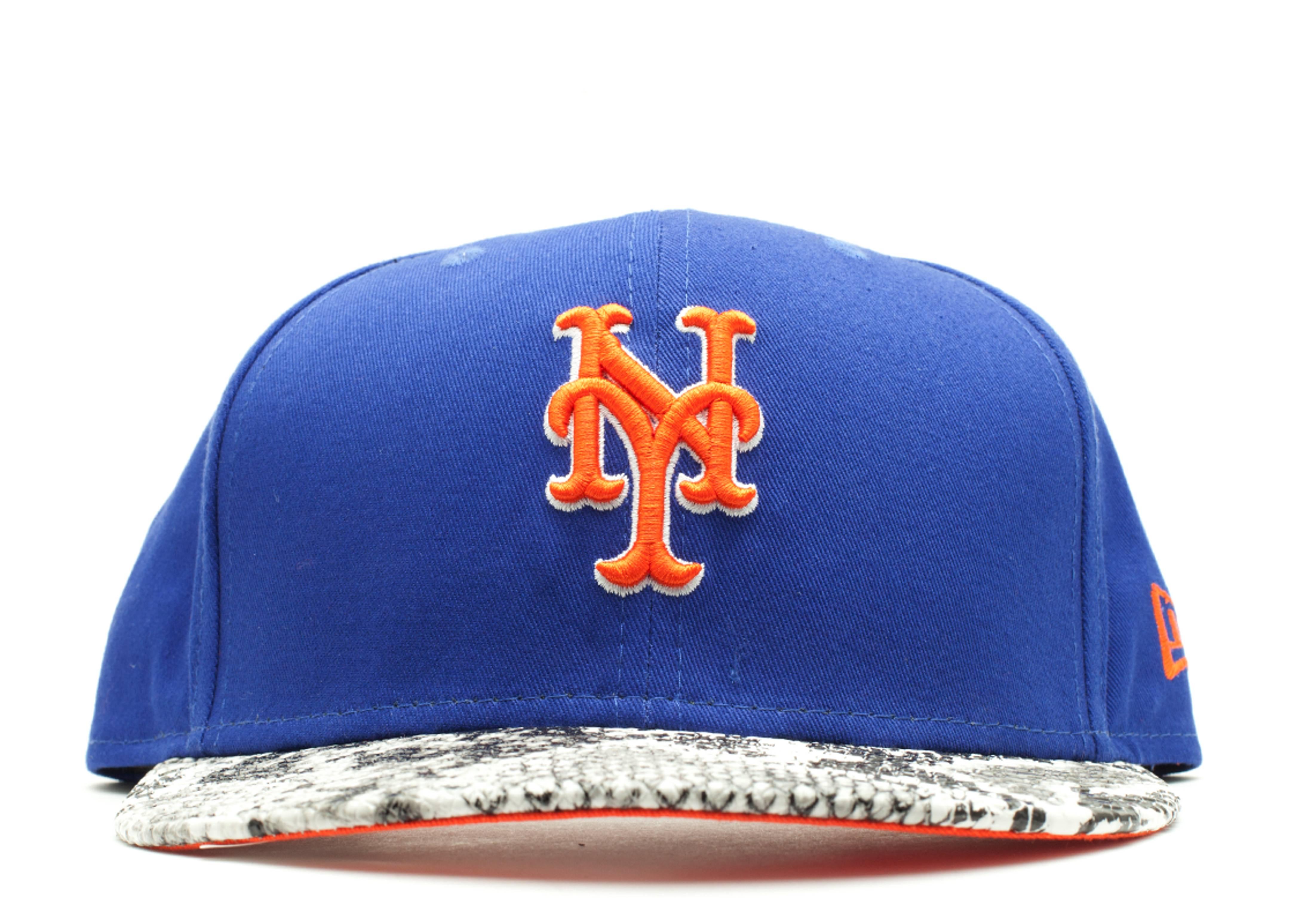"""new york mets snake snap-back """"snake"""""""