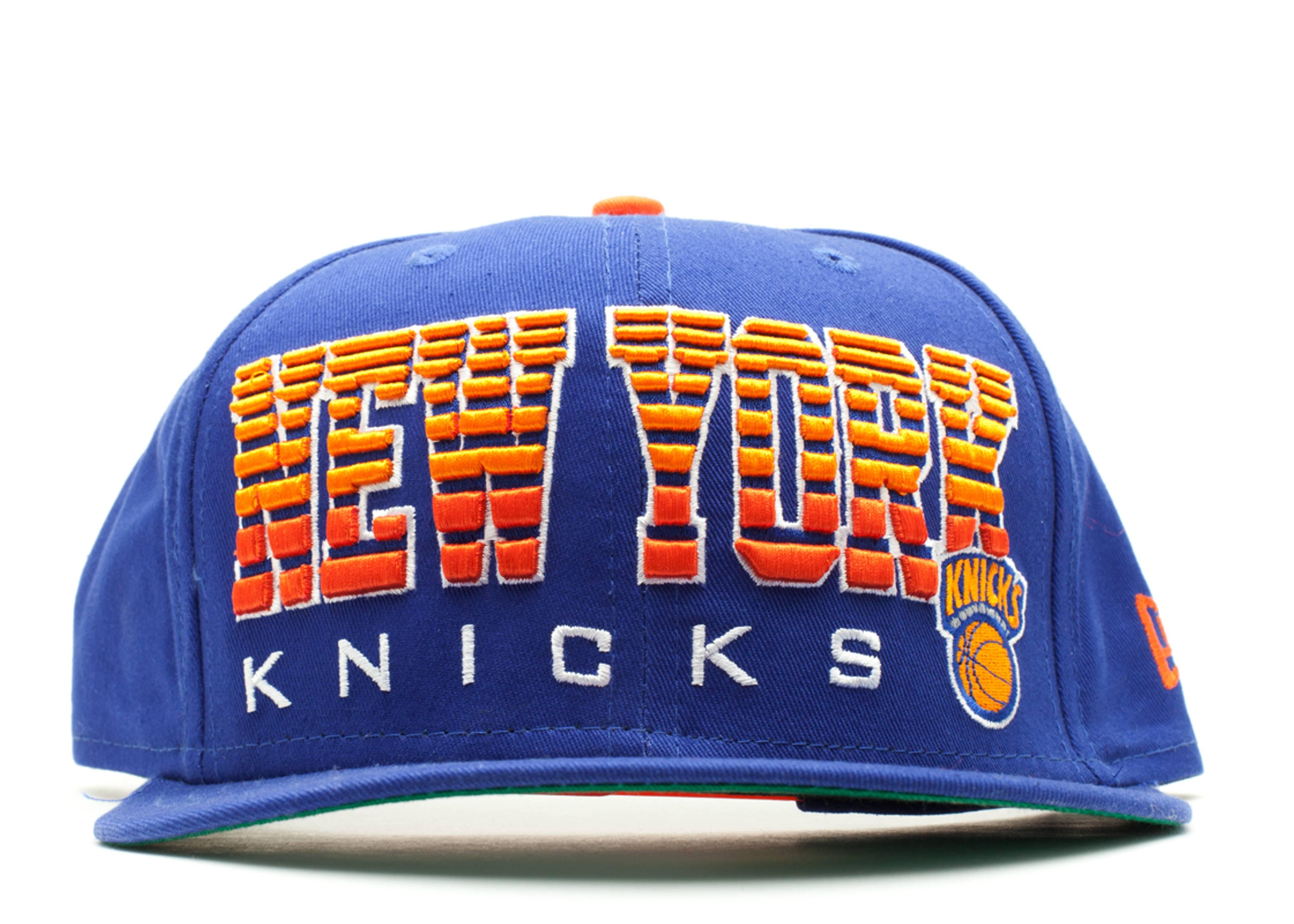 new york knicks fade snap-back