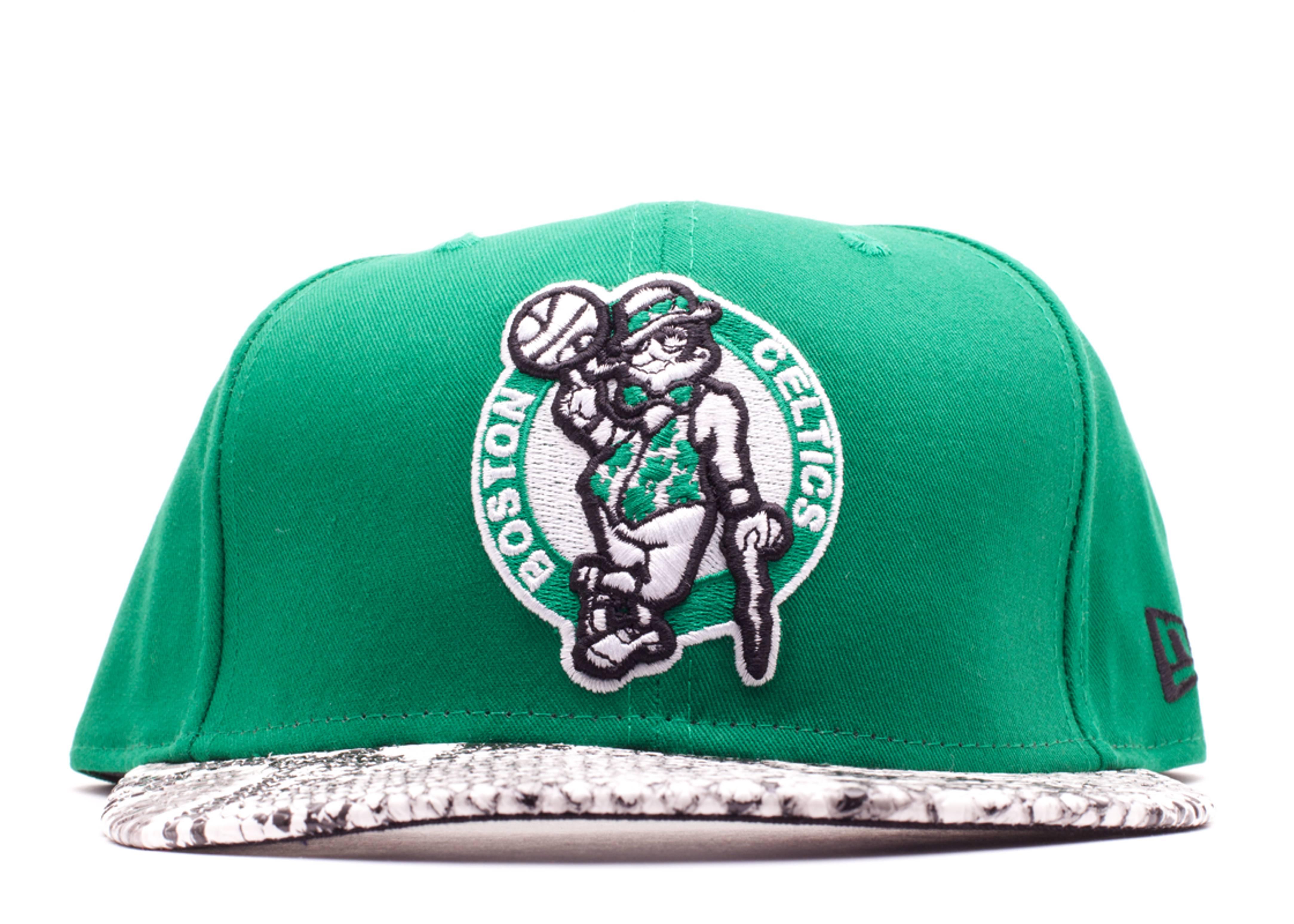 "boston celtics snake snap-back ""snake"""
