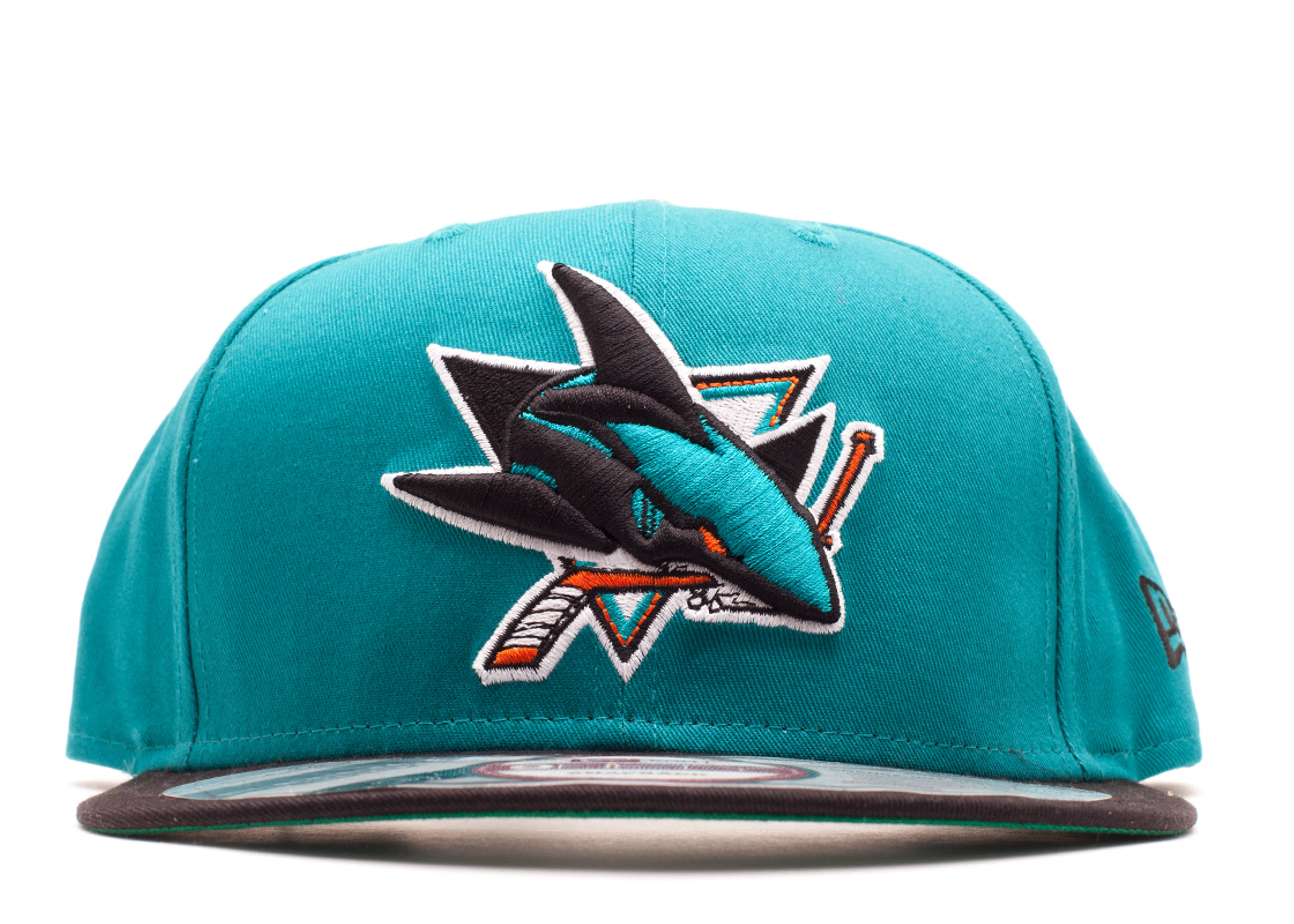 san jose sharks interchangeable snap-back