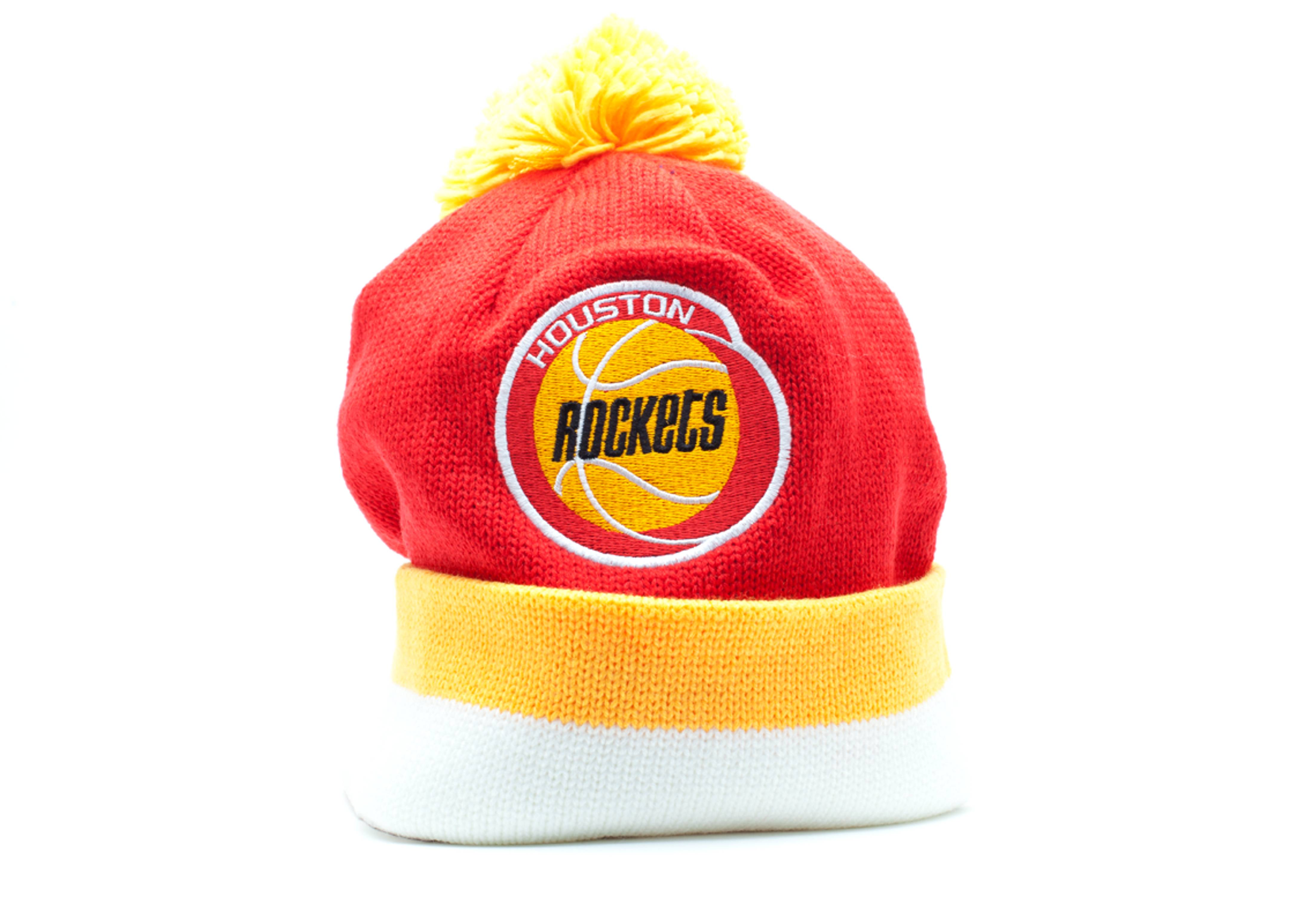 timeless design db8ed 724af store houston rockets beanie yellow ad123 7b663