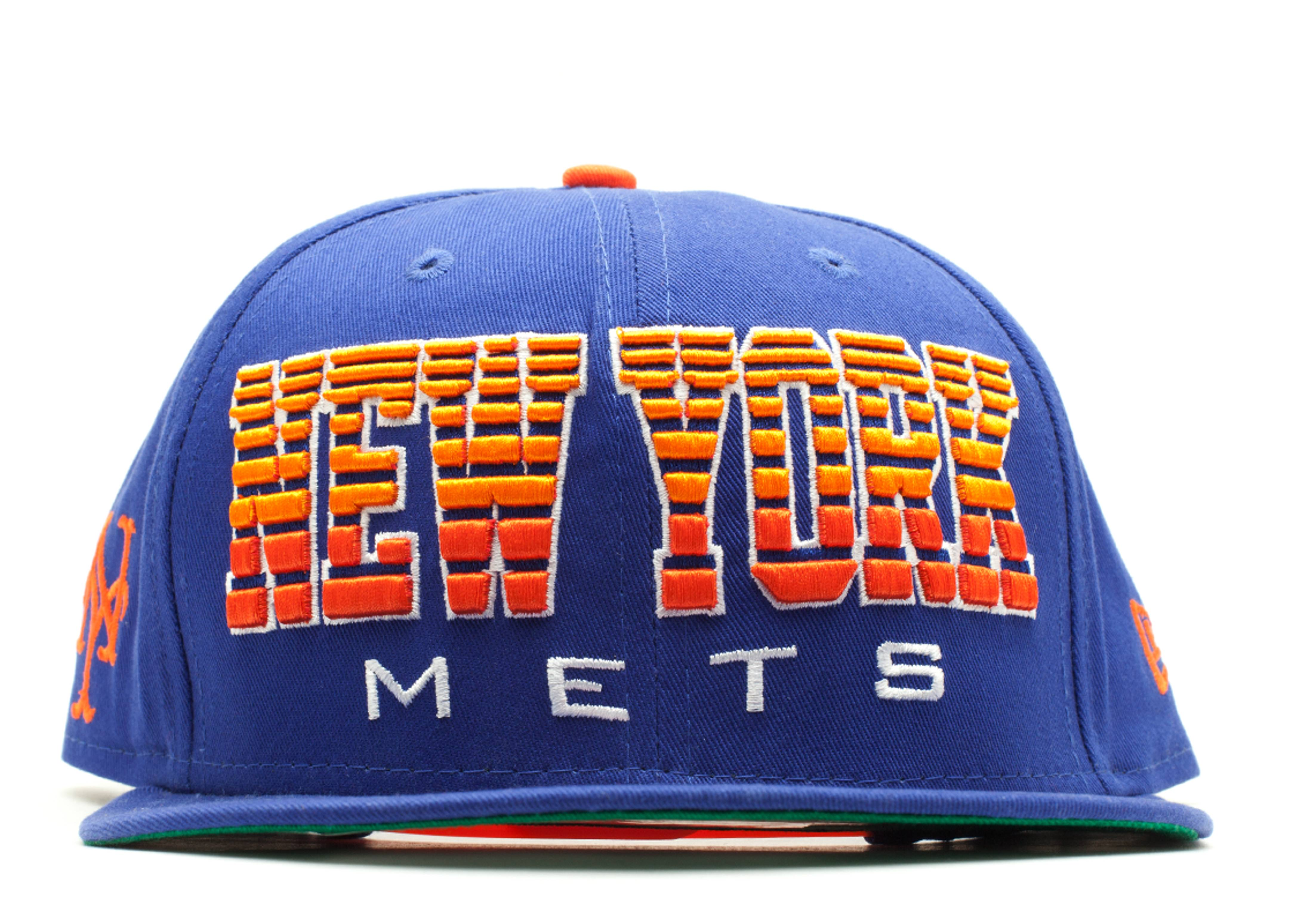 new york mets fade snap-back