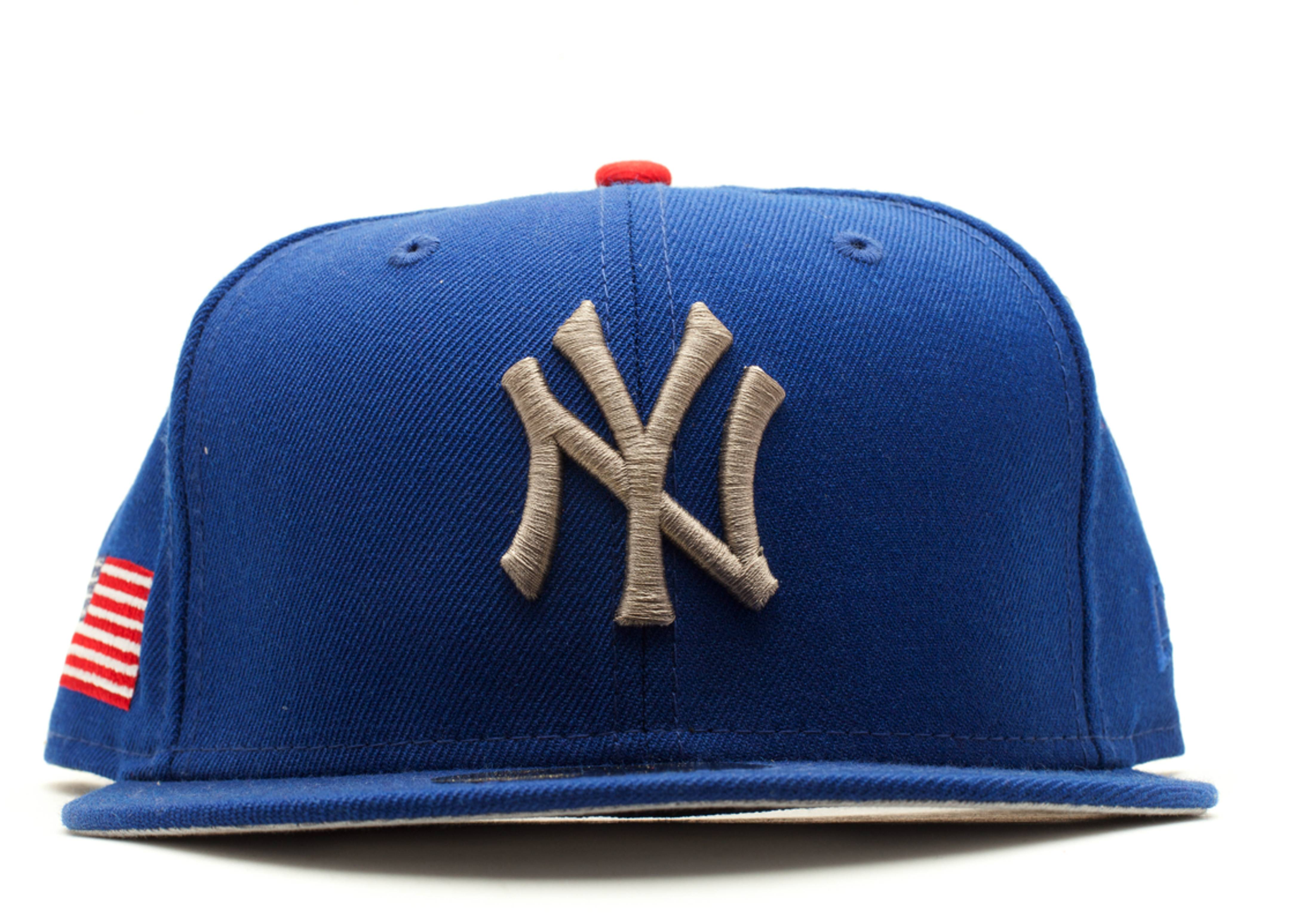 "new york yankees fitted ""american flag"""