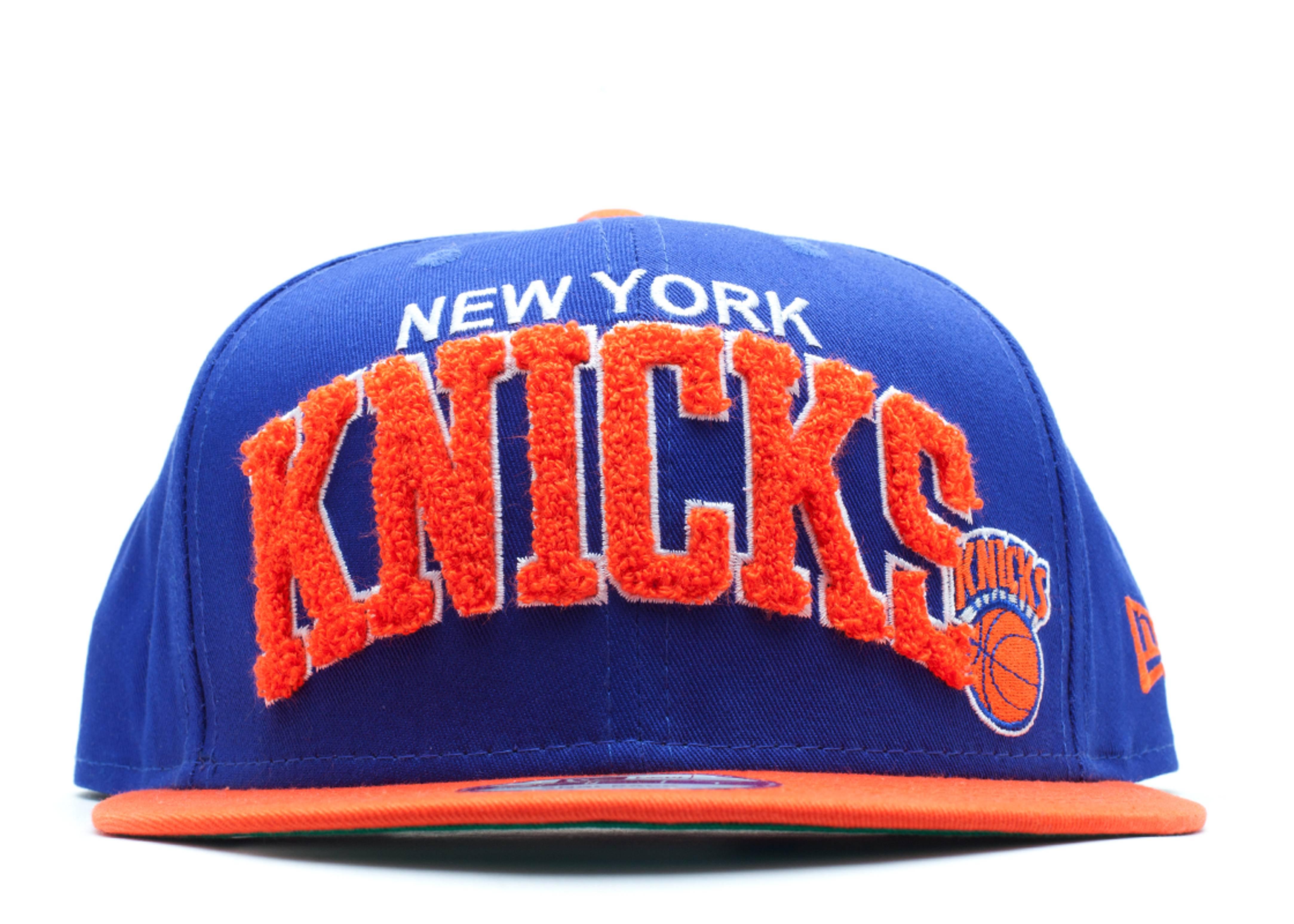 new york knicks chenielle snap-back