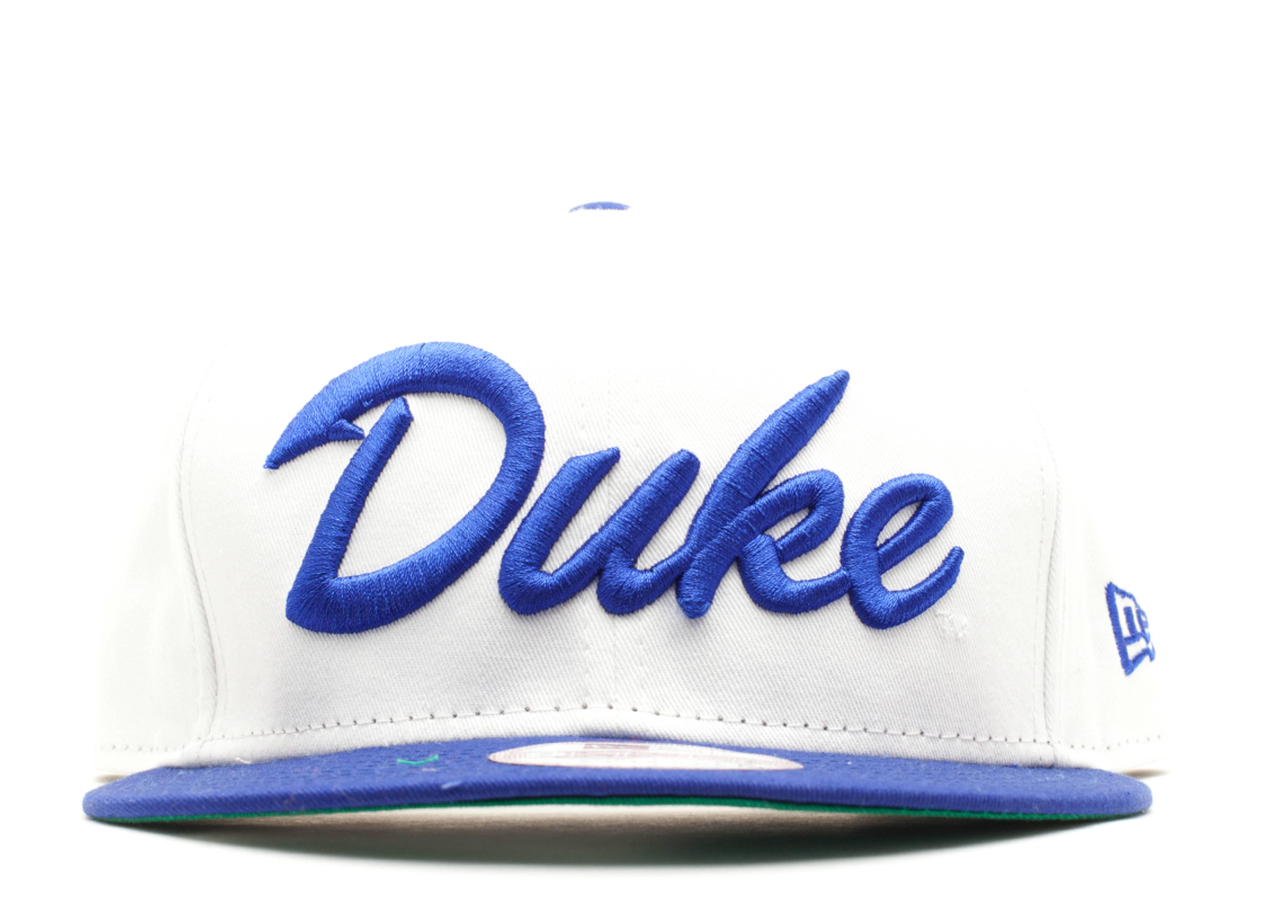 duke blue devils reverse snap-back