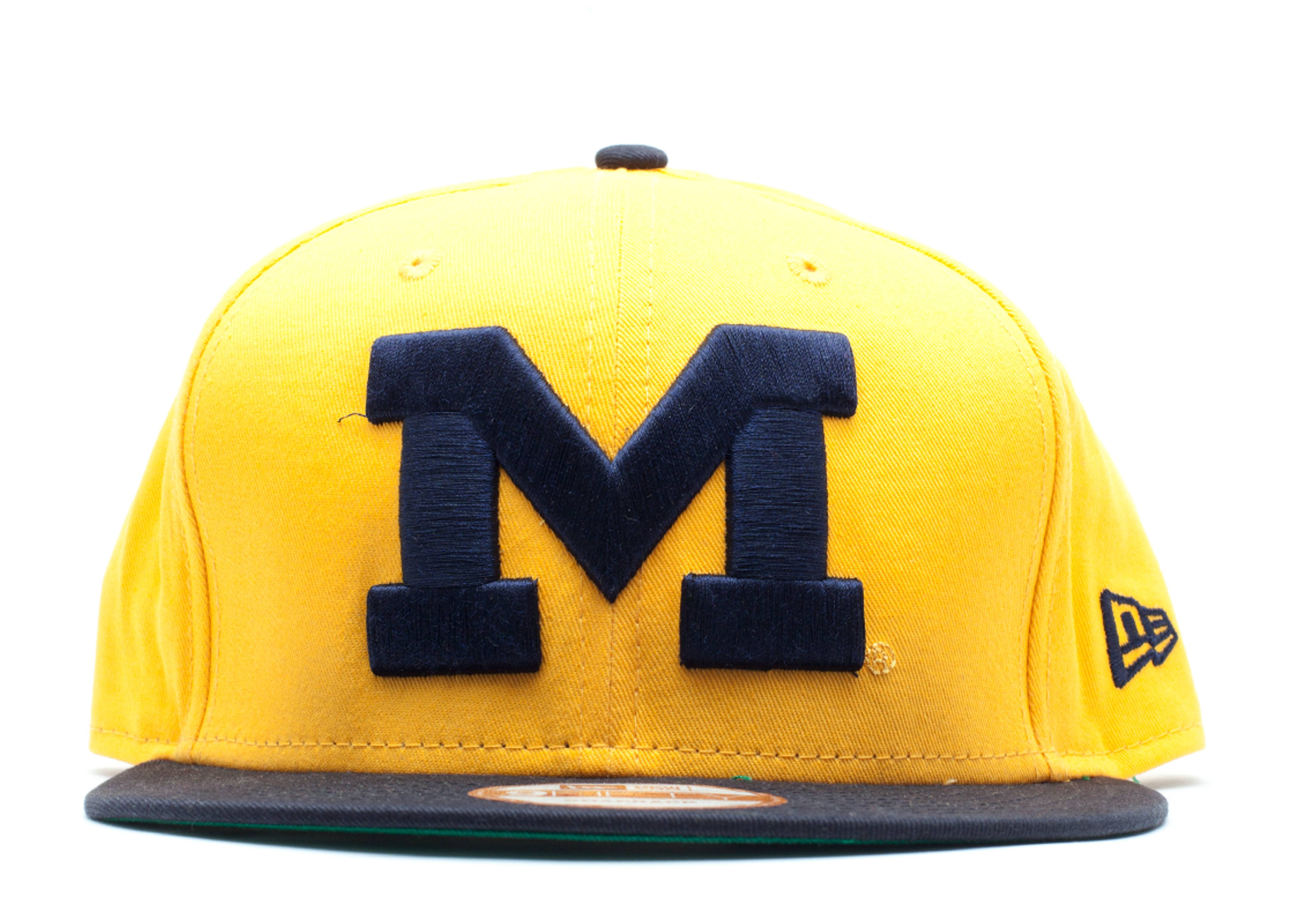 michigan stater wolverines reverse snap-back
