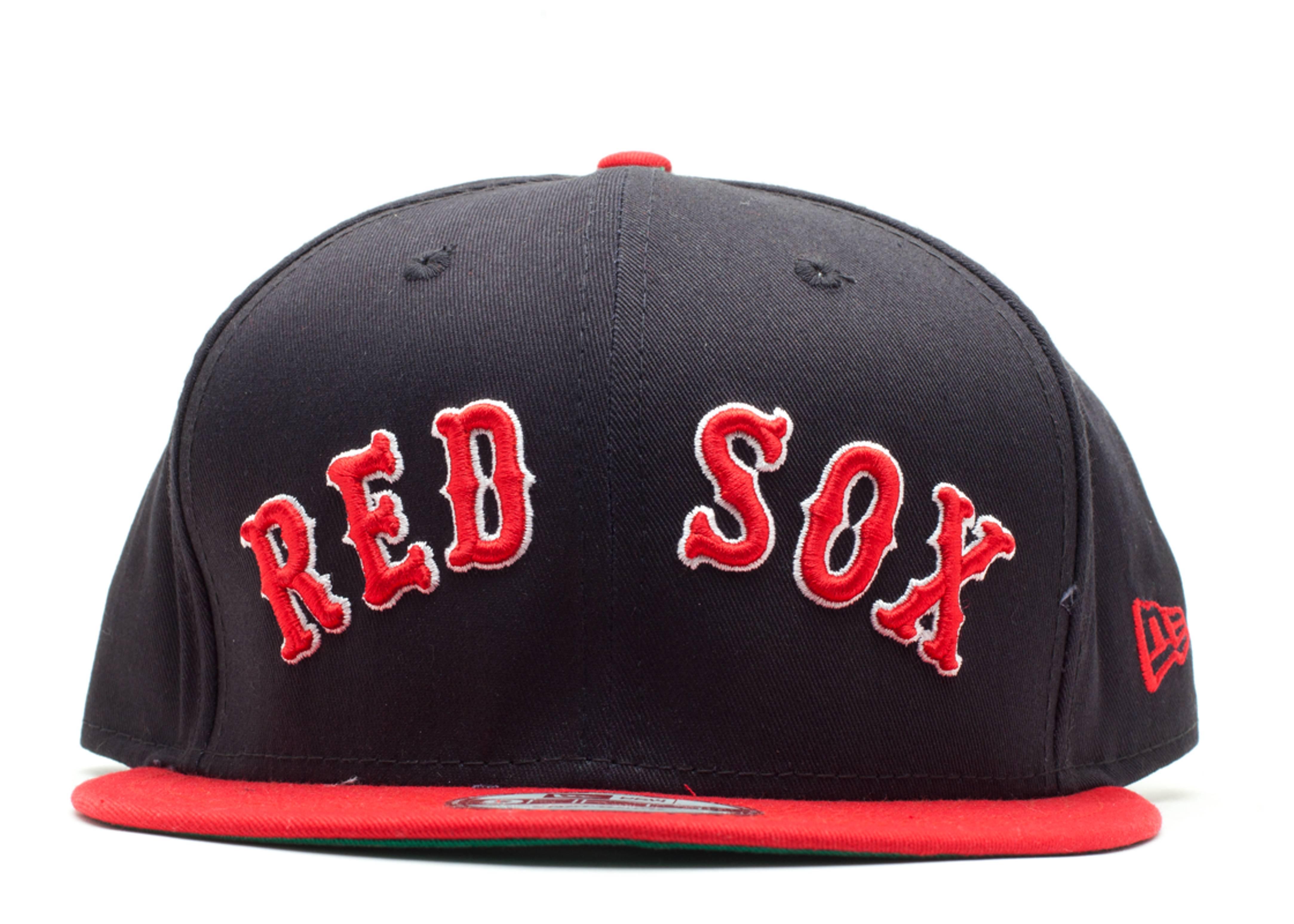 boston red sox reverse snap-back