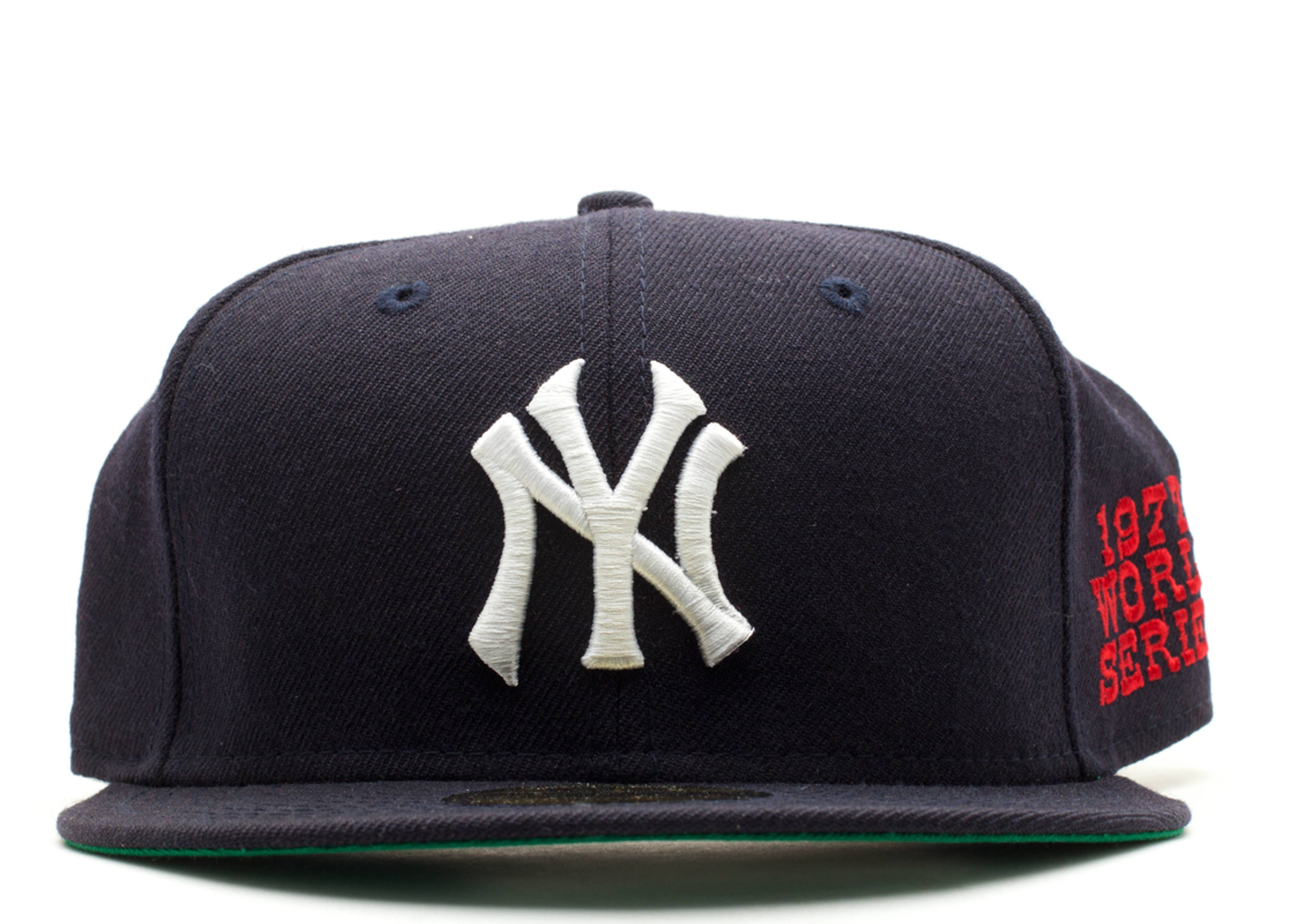"""new york yankees fitted """"1977 world series"""""""