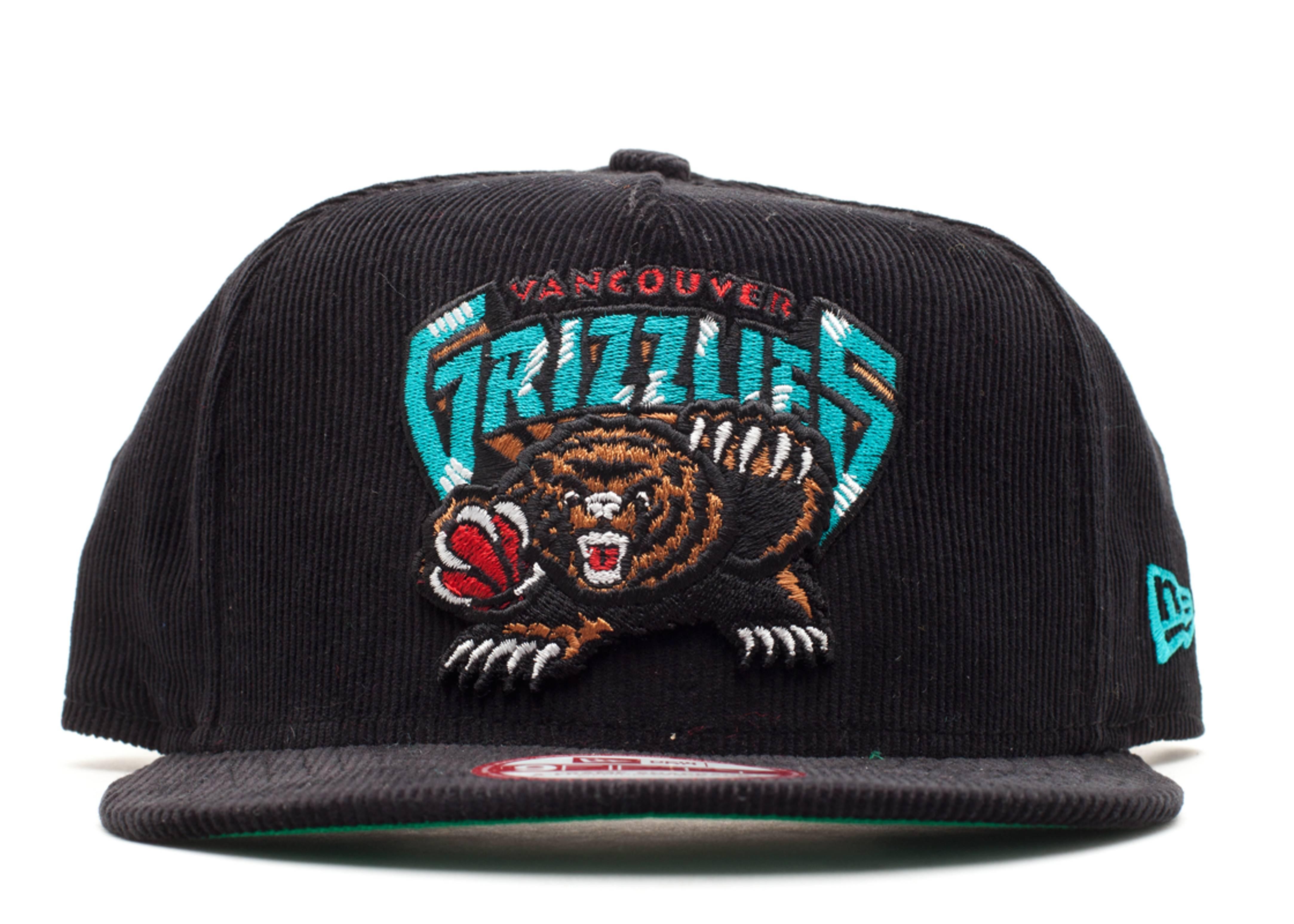 "vancouver grizzlies snap-back ""corduroy"""