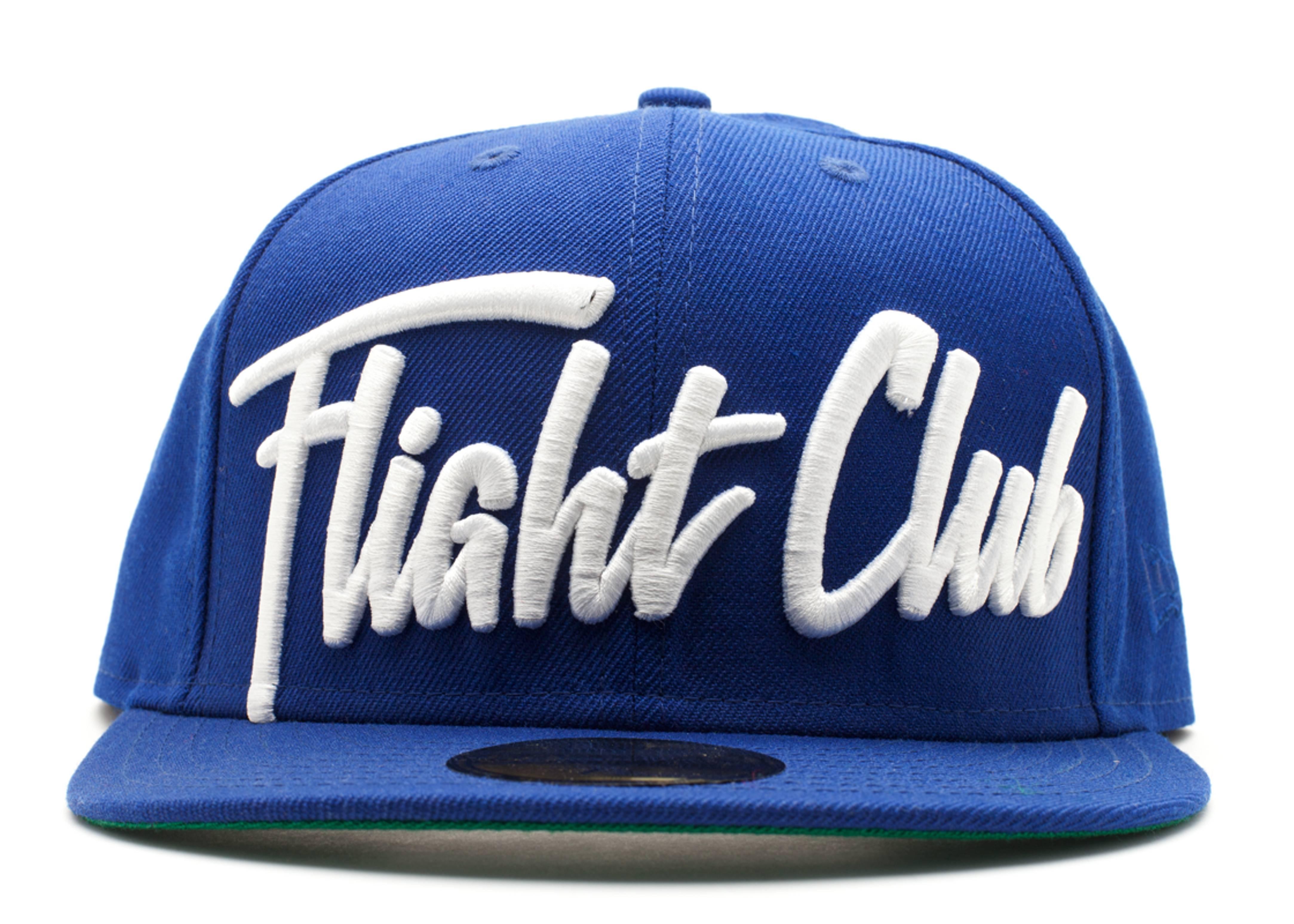 """new era x flight club fitted """"script"""""""