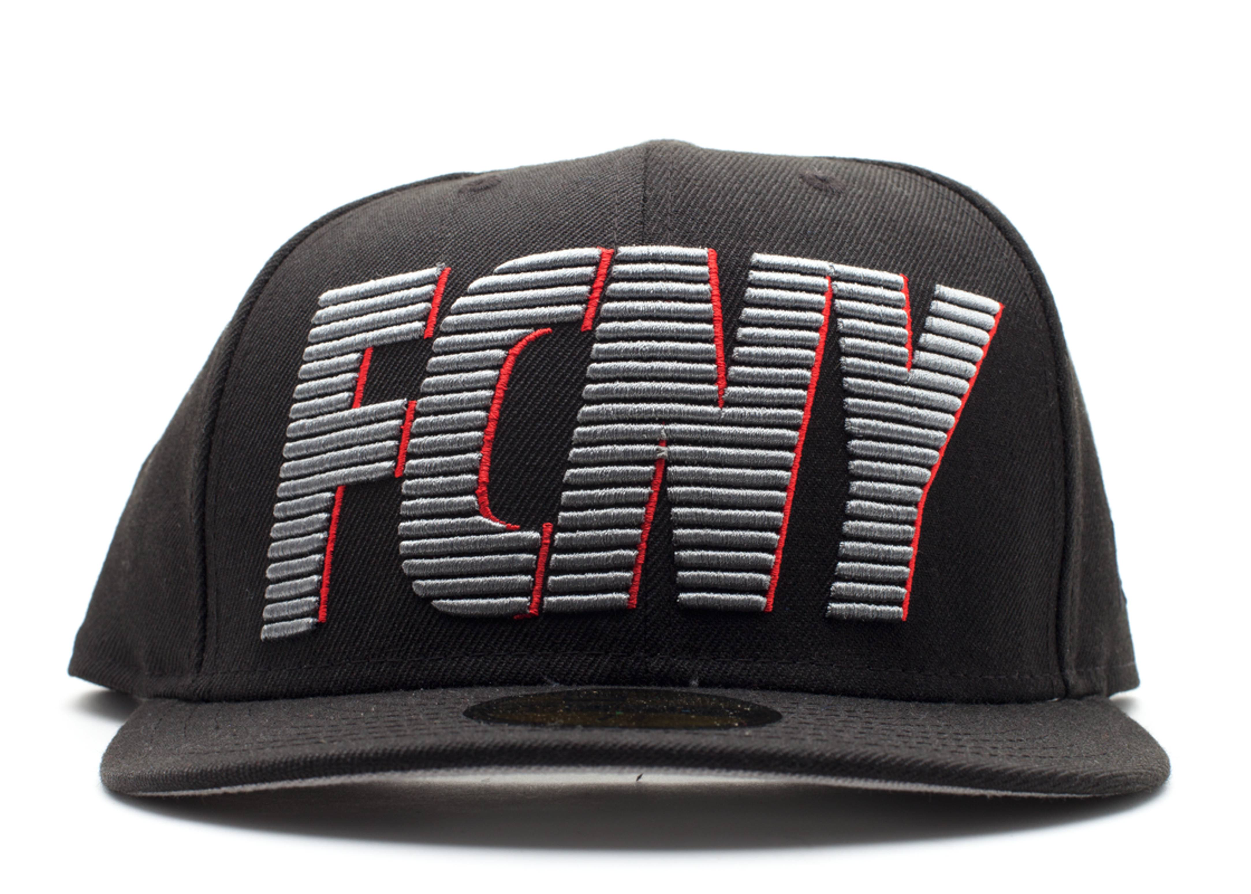 "new era x flight club fitted ""shadow striper"""