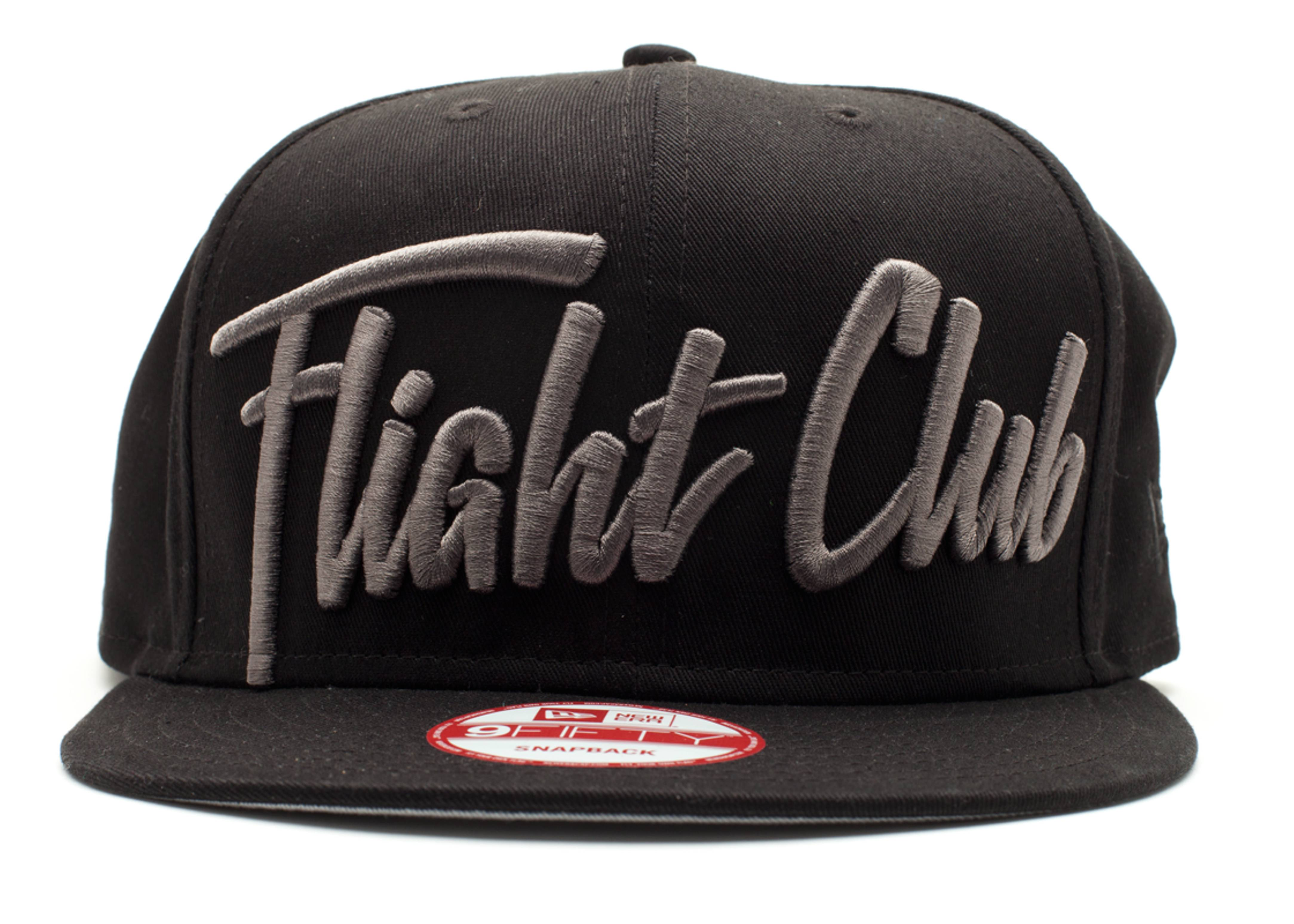 "new era x flight club snap-back ""script"""
