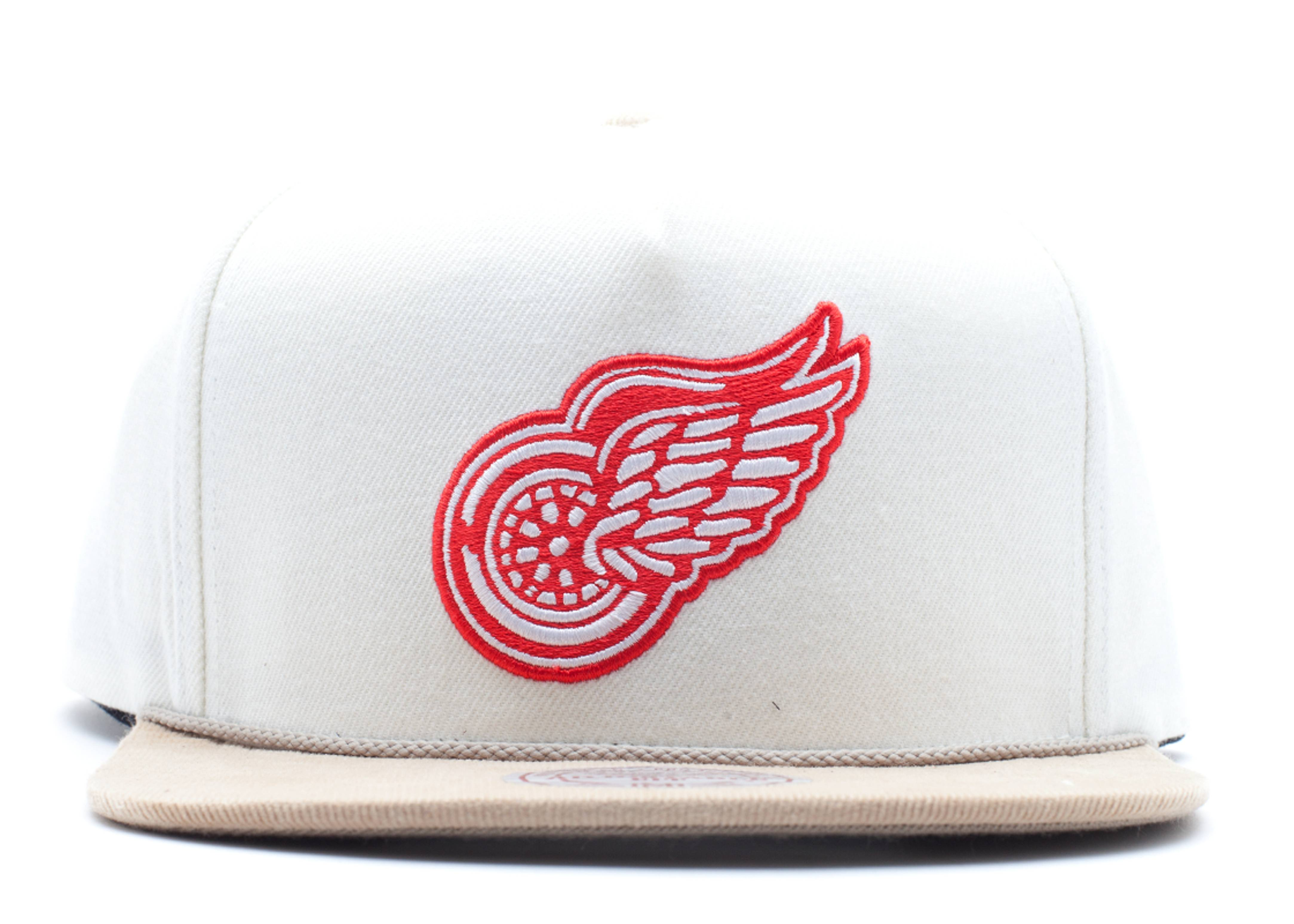 "detroit redwings snap-back ""strap-back"""