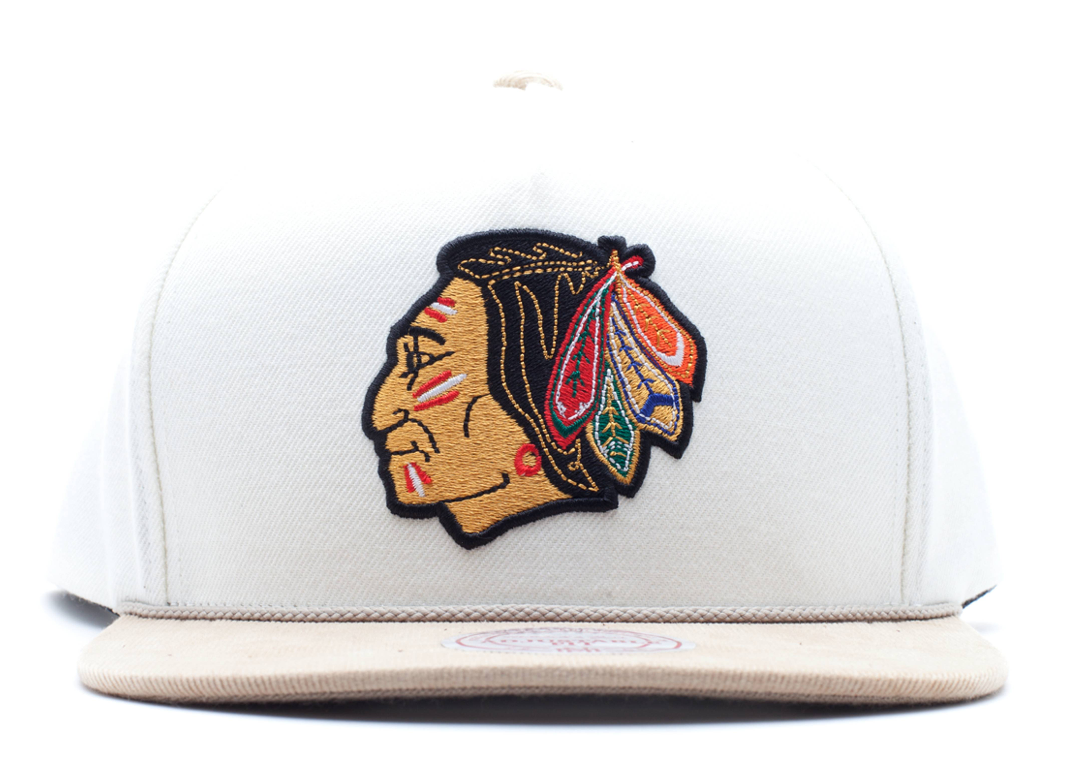 "chicago blackhawks snap-back ""strap-back"""