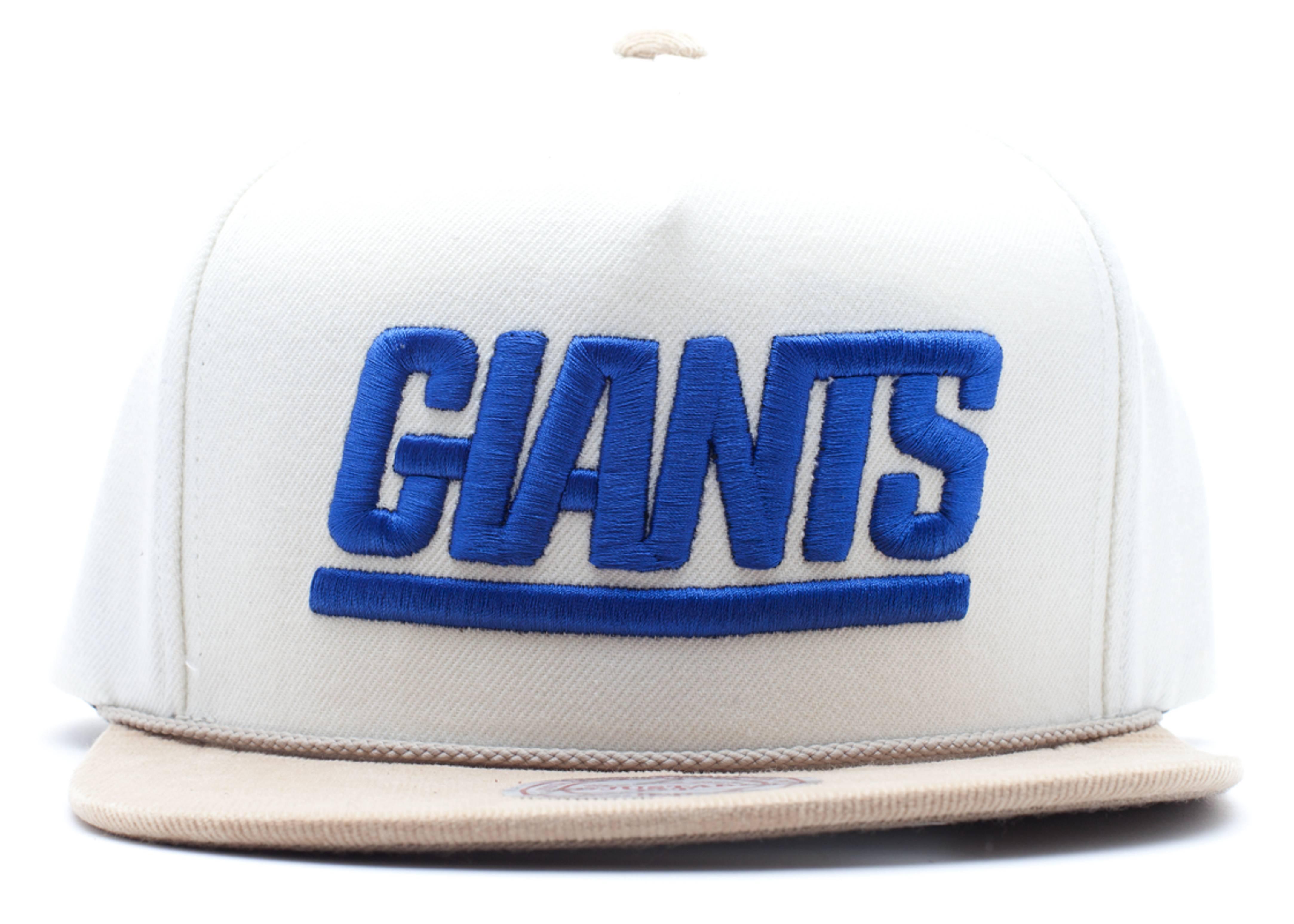"new york giants snap-back ""strap-back"""