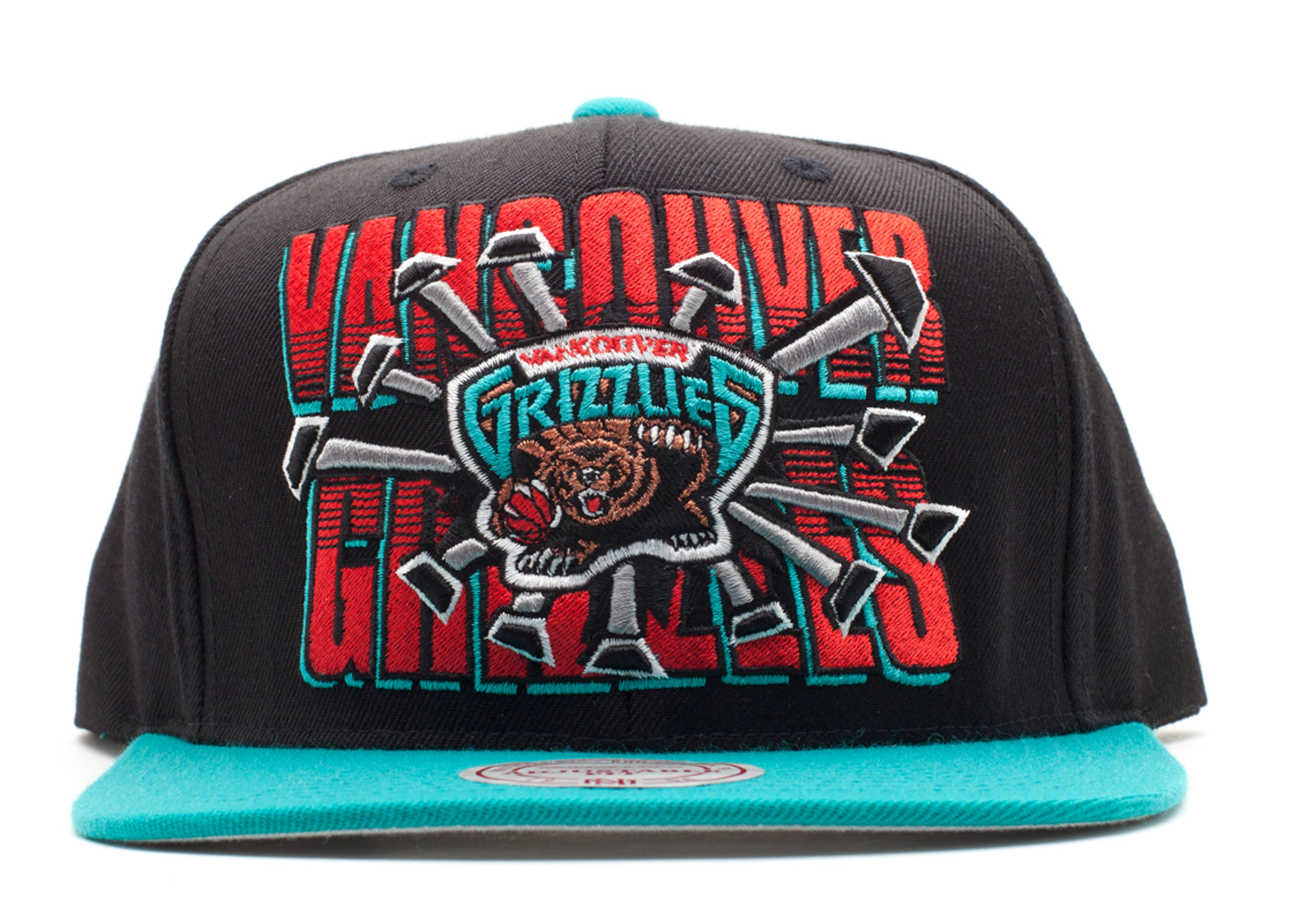 vancouver grizzles snap-back