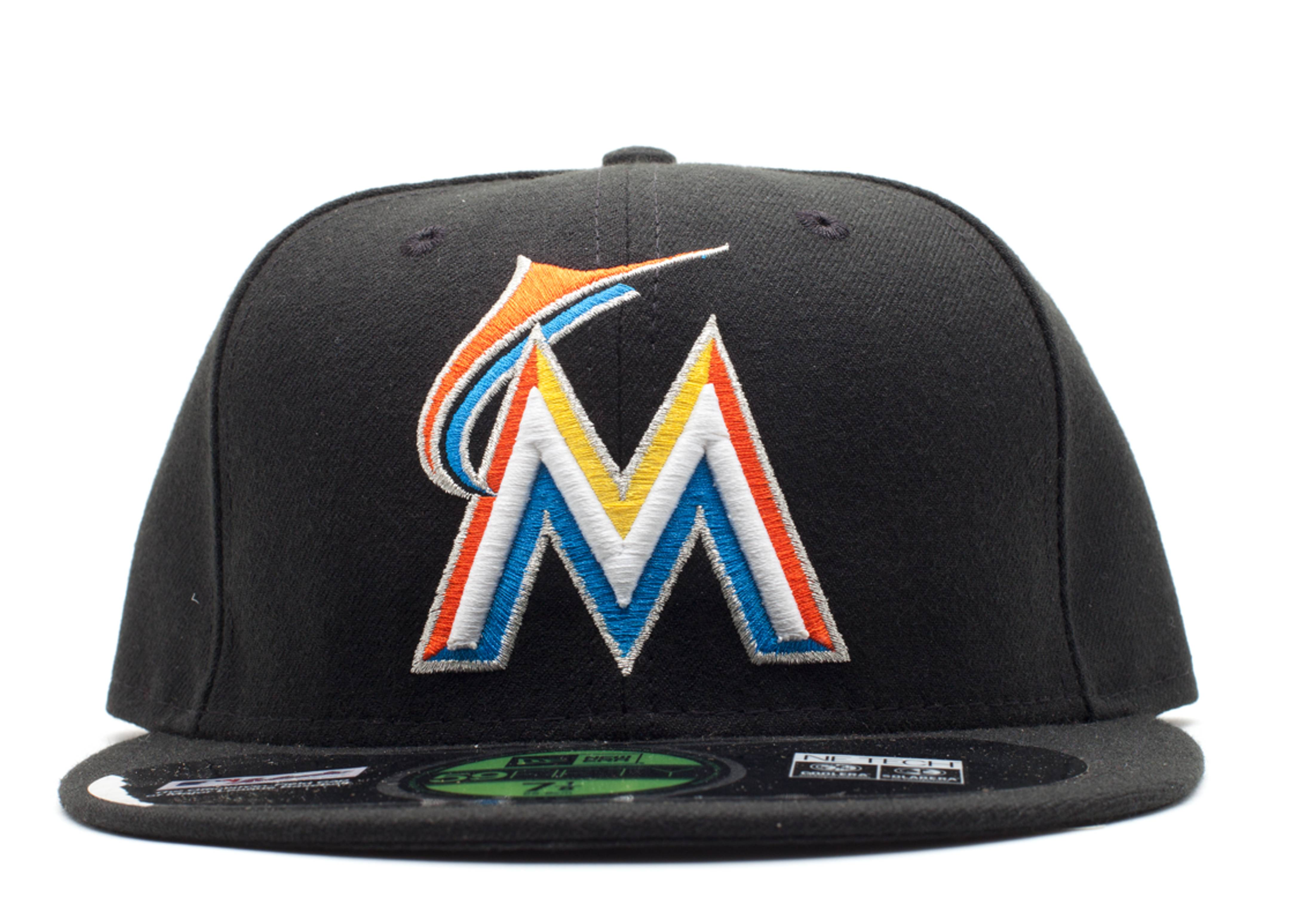 miami marlins fitted