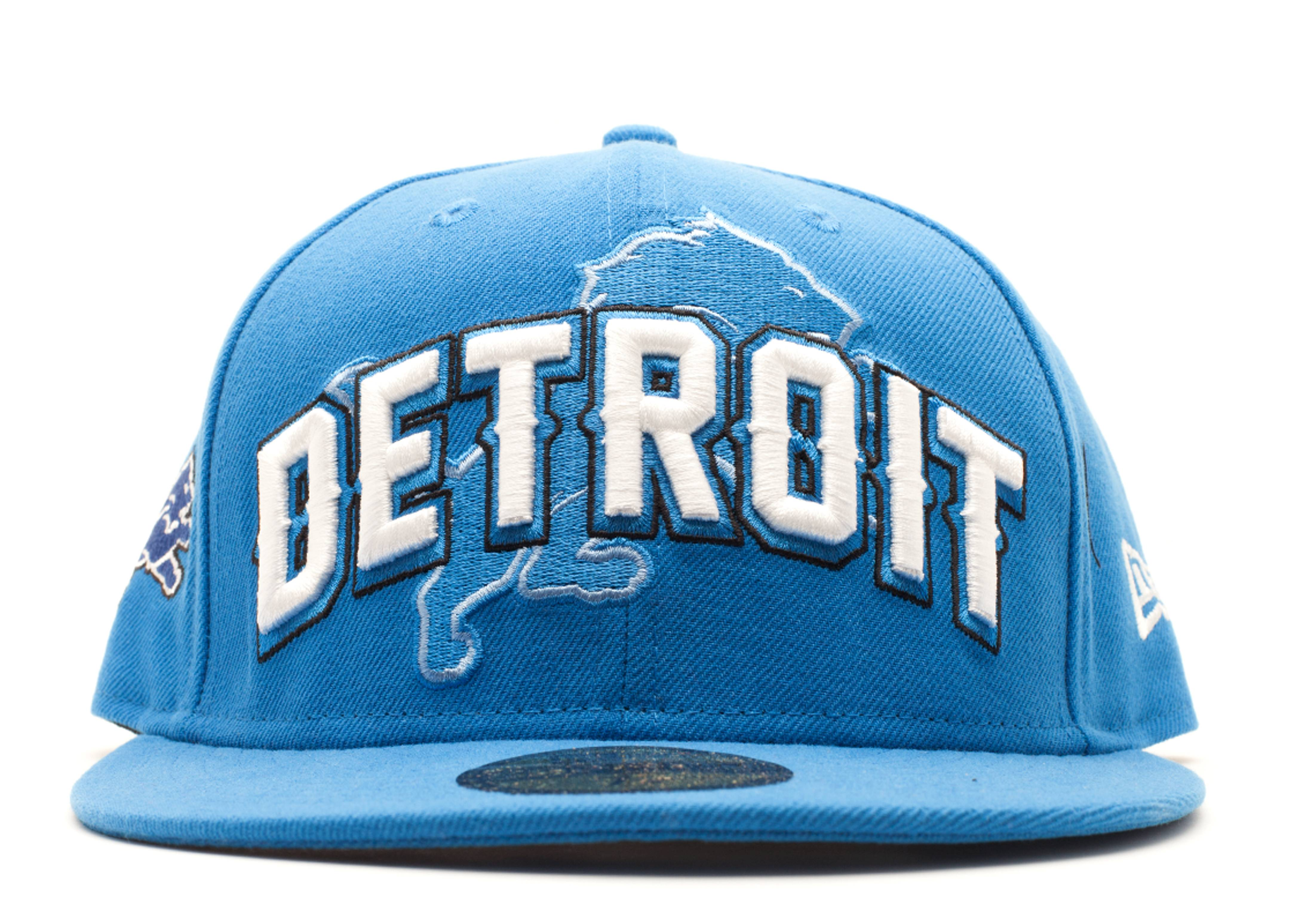 detroit lions fitted