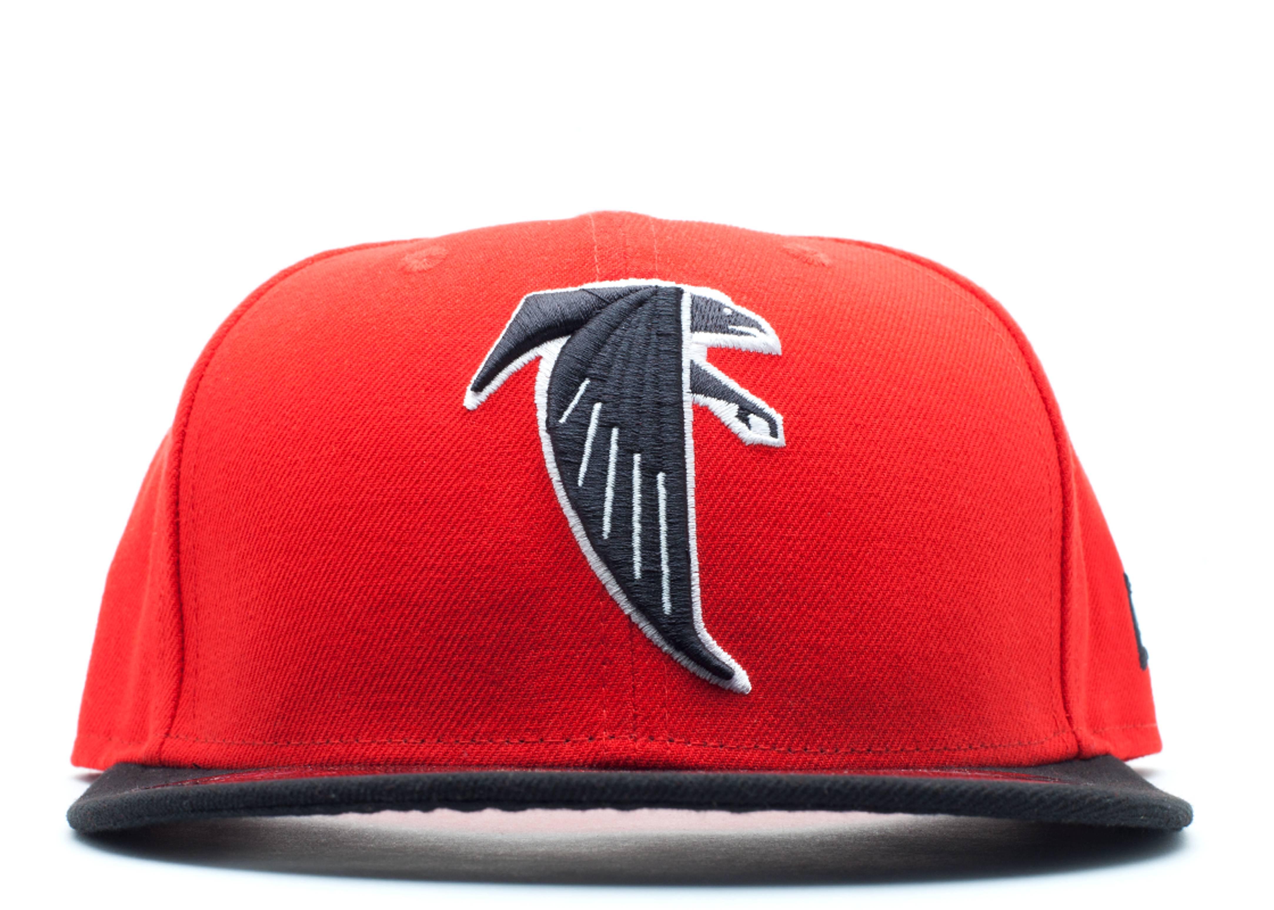 Atlanta Falcons Fitted - New Era - 10543162 - red black  762d15fe997