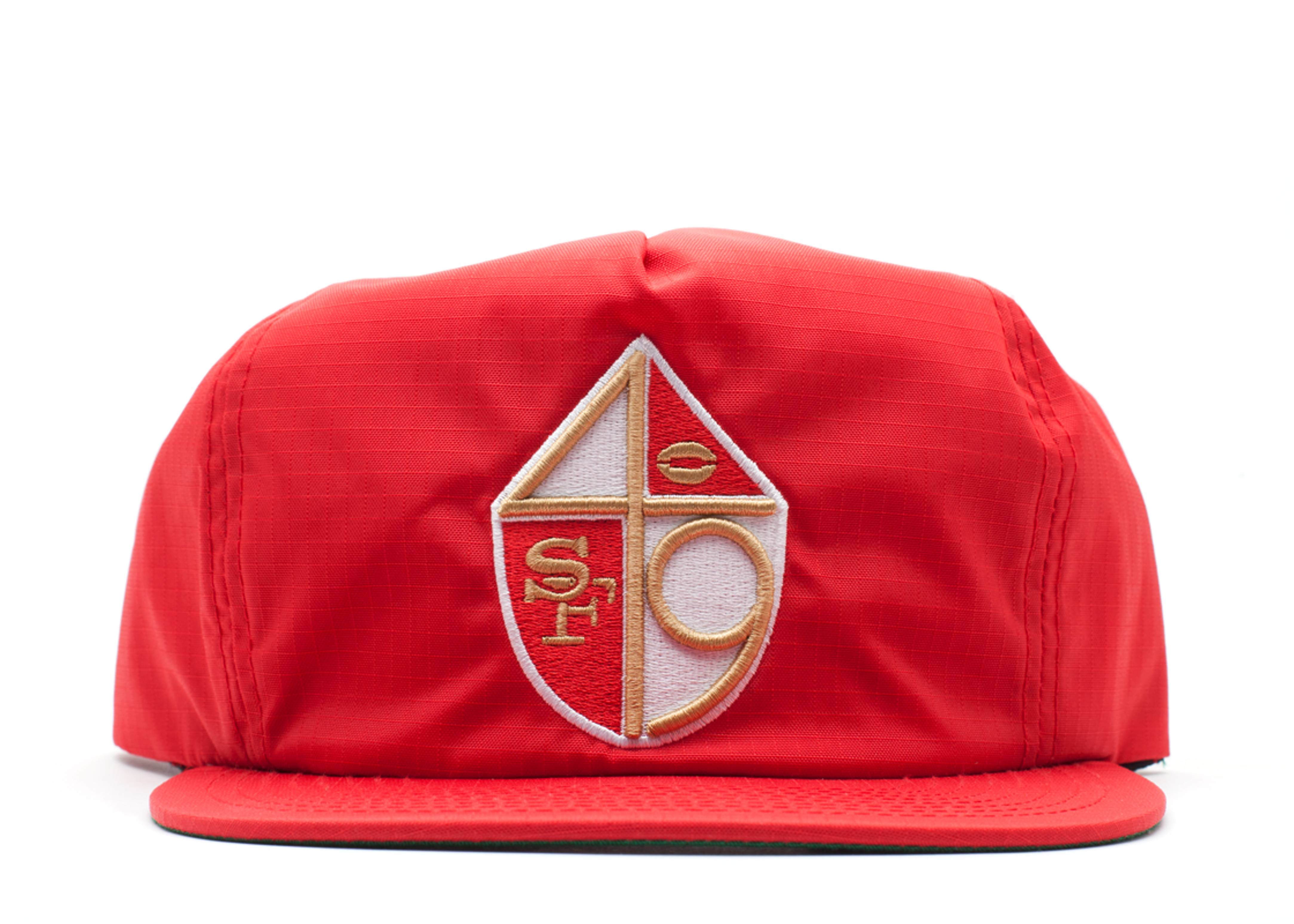 "san francisco 49ers snap-back ""zip-back"""