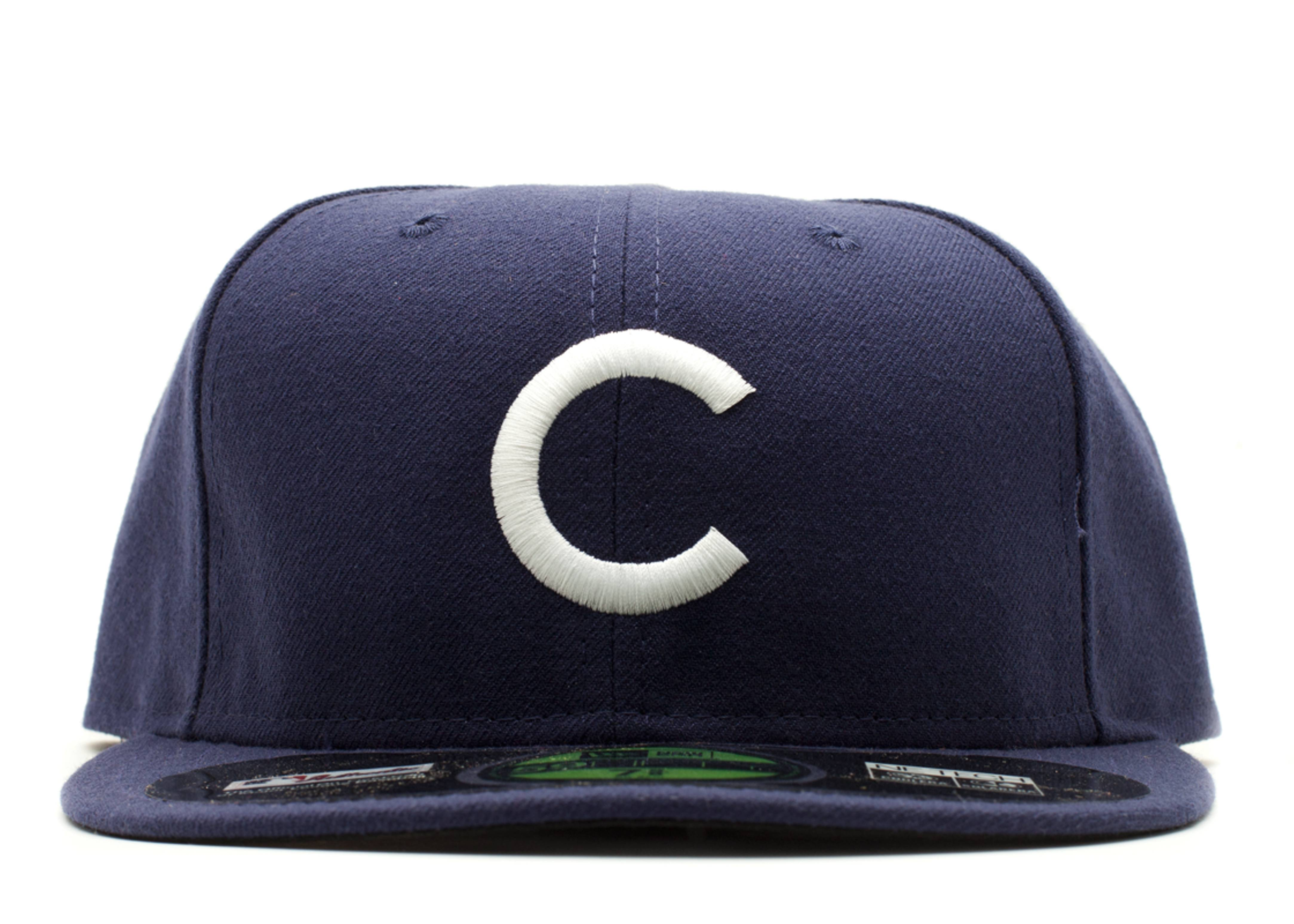 "chicago cubs fitted ""turn back the clock"""