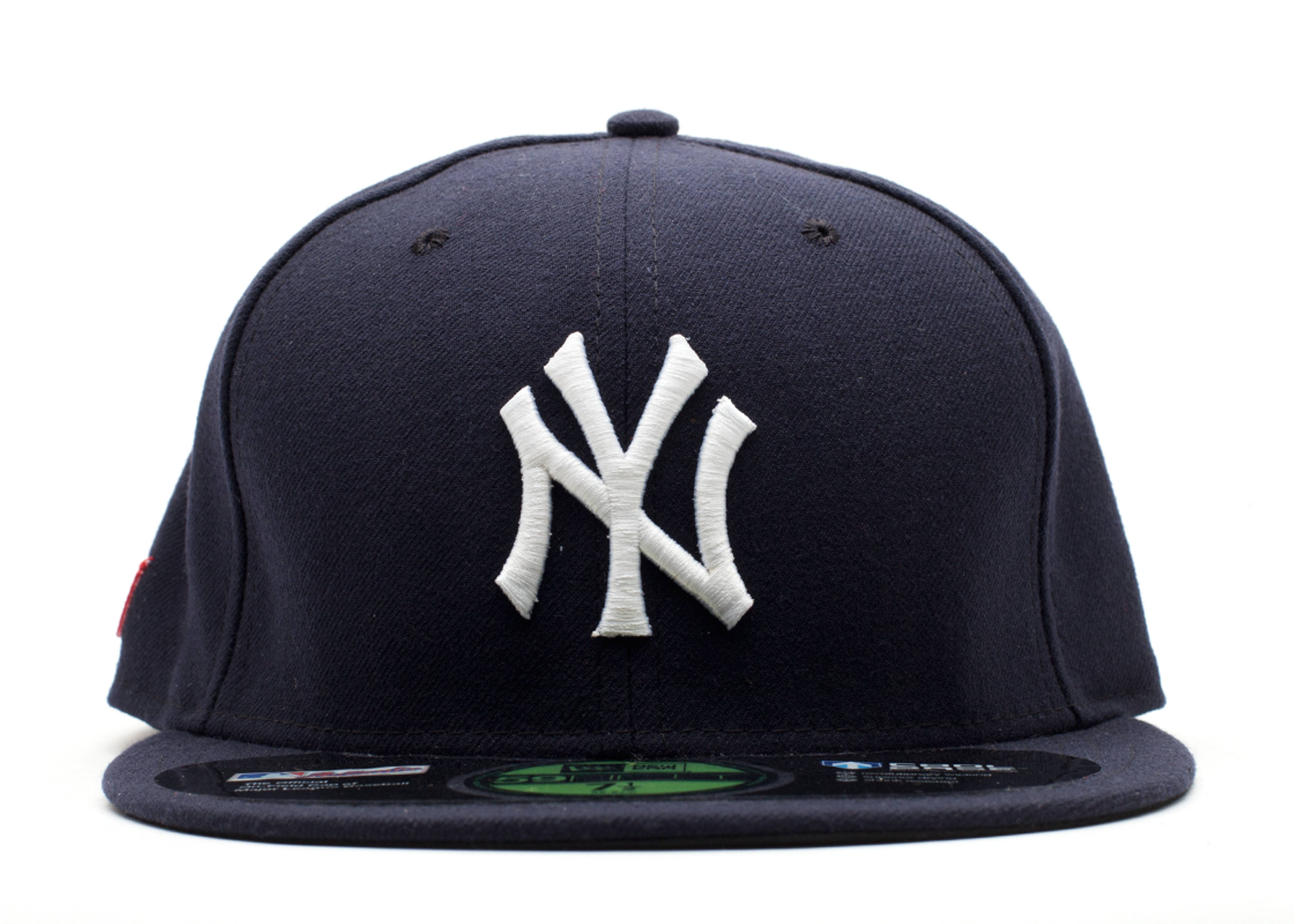 """new york yankees fitted """"fcny red tab"""""""