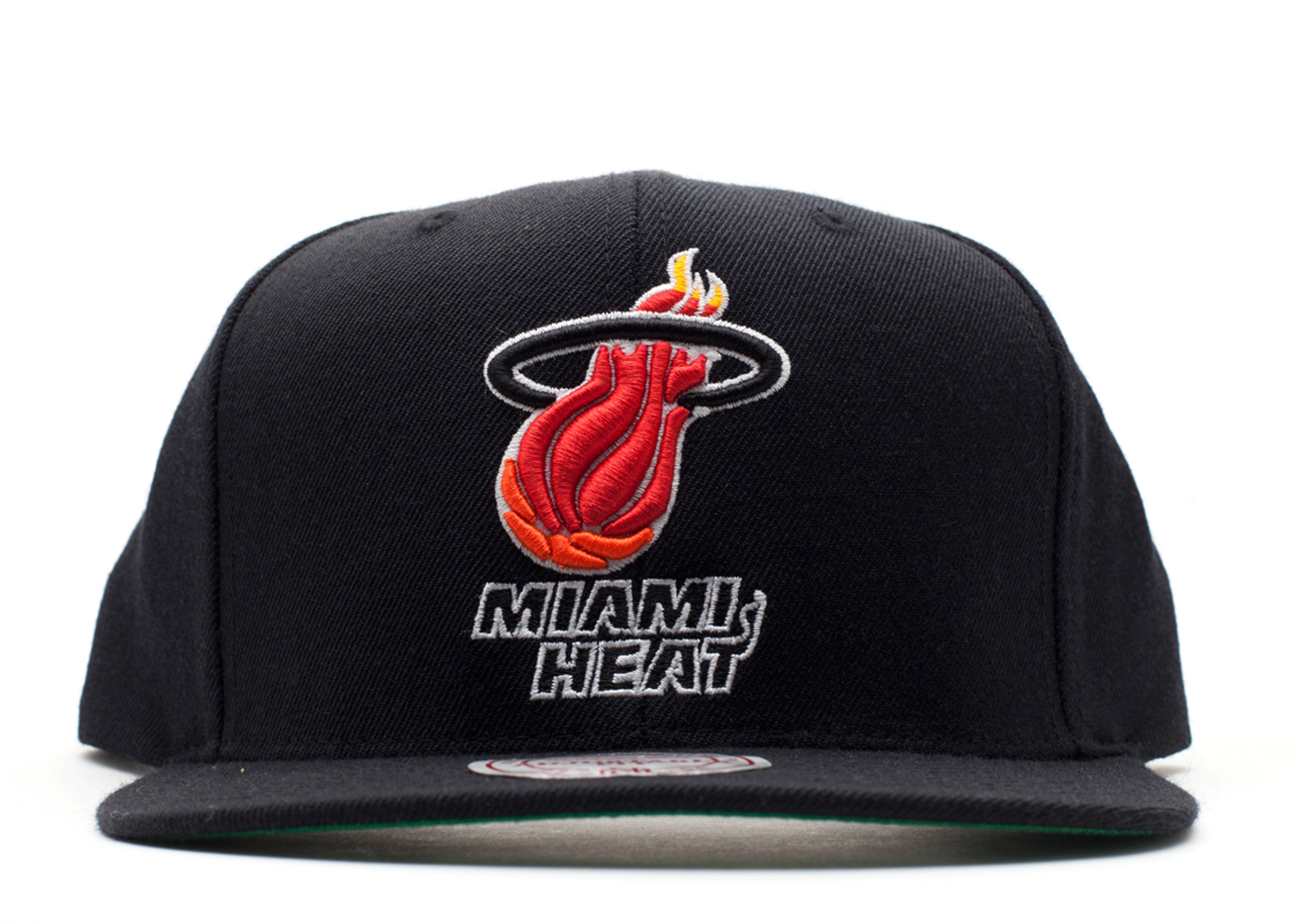 miami heat snap-back