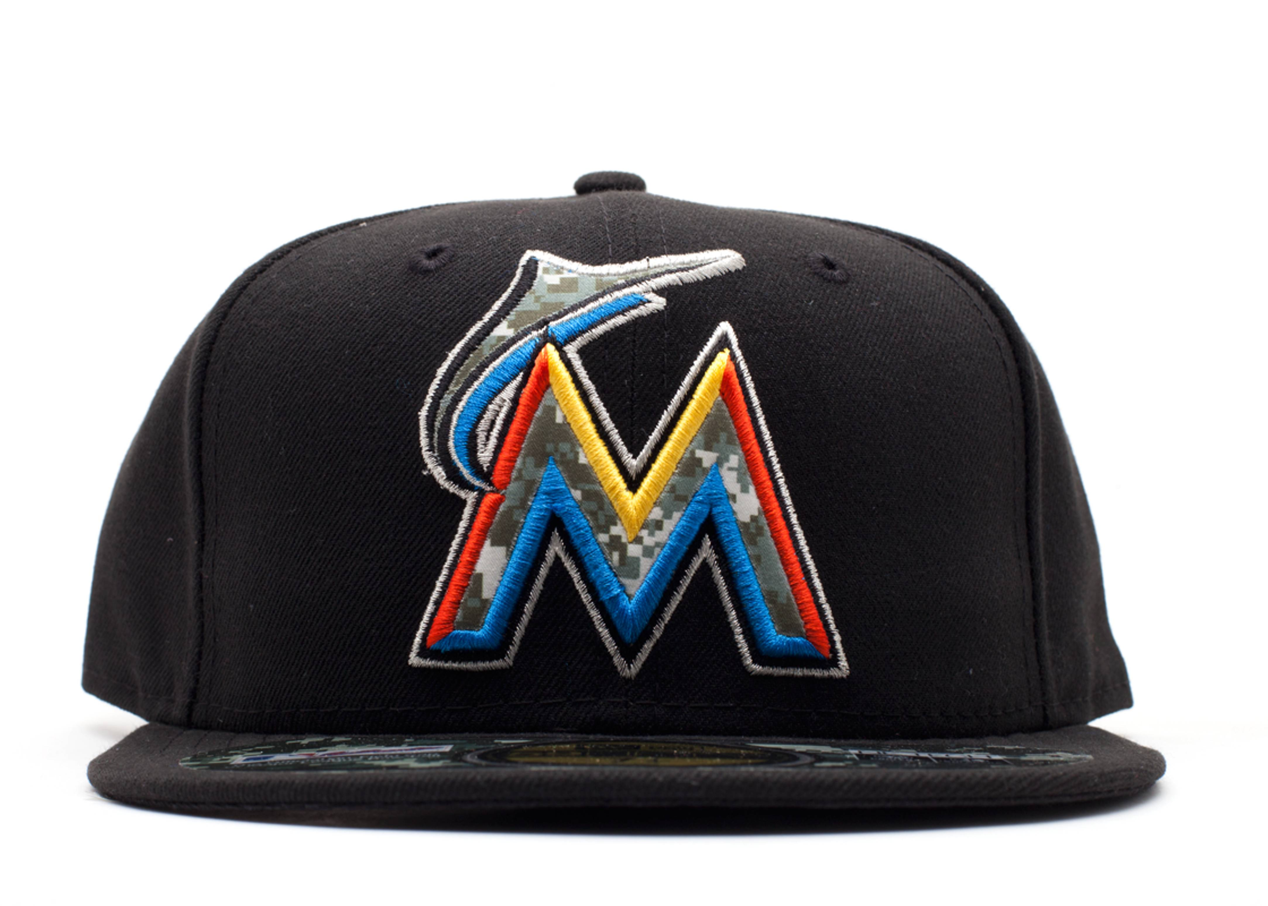 """miami marlins fitted """"stars & stripes"""""""