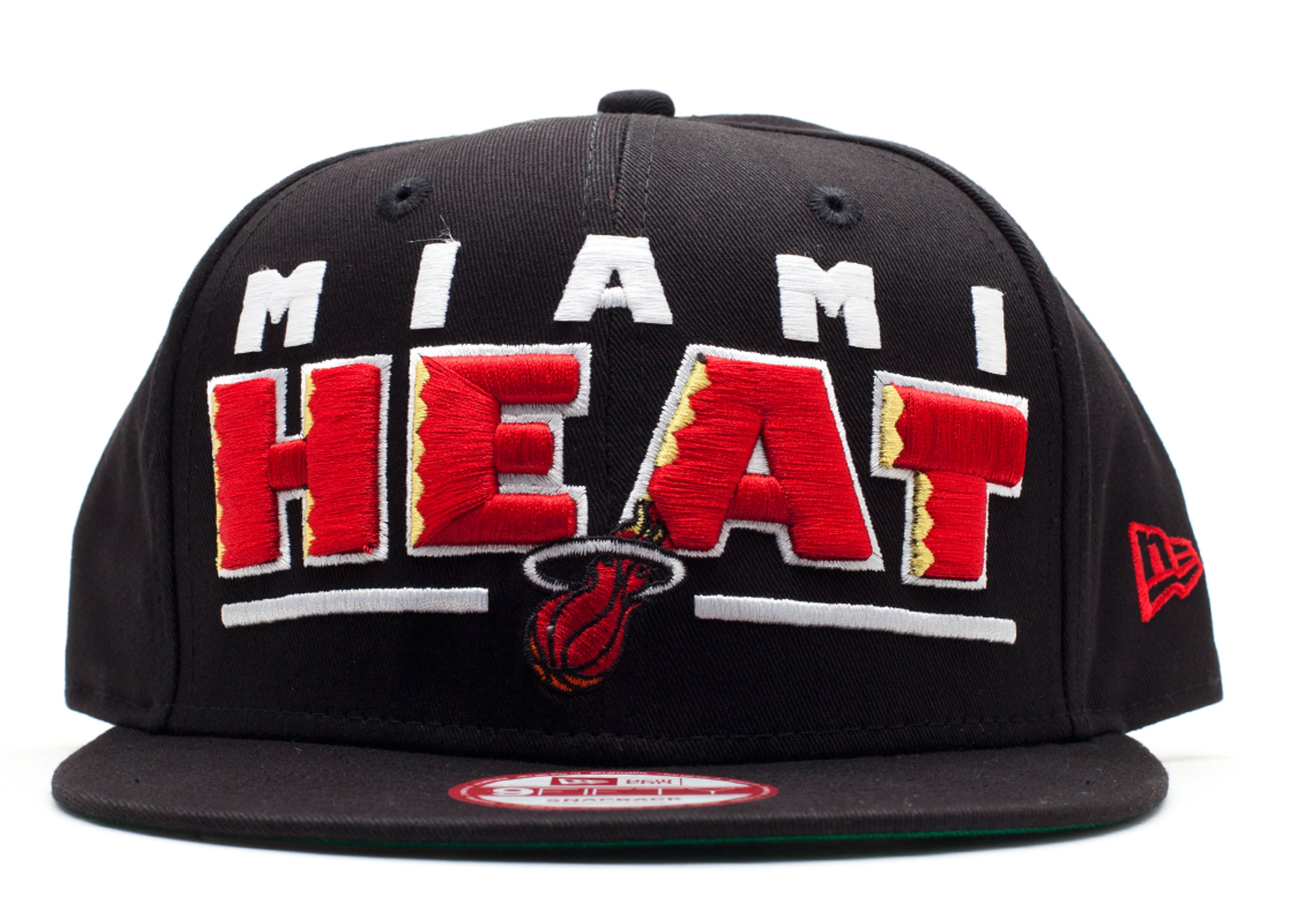 miami heats snap-back
