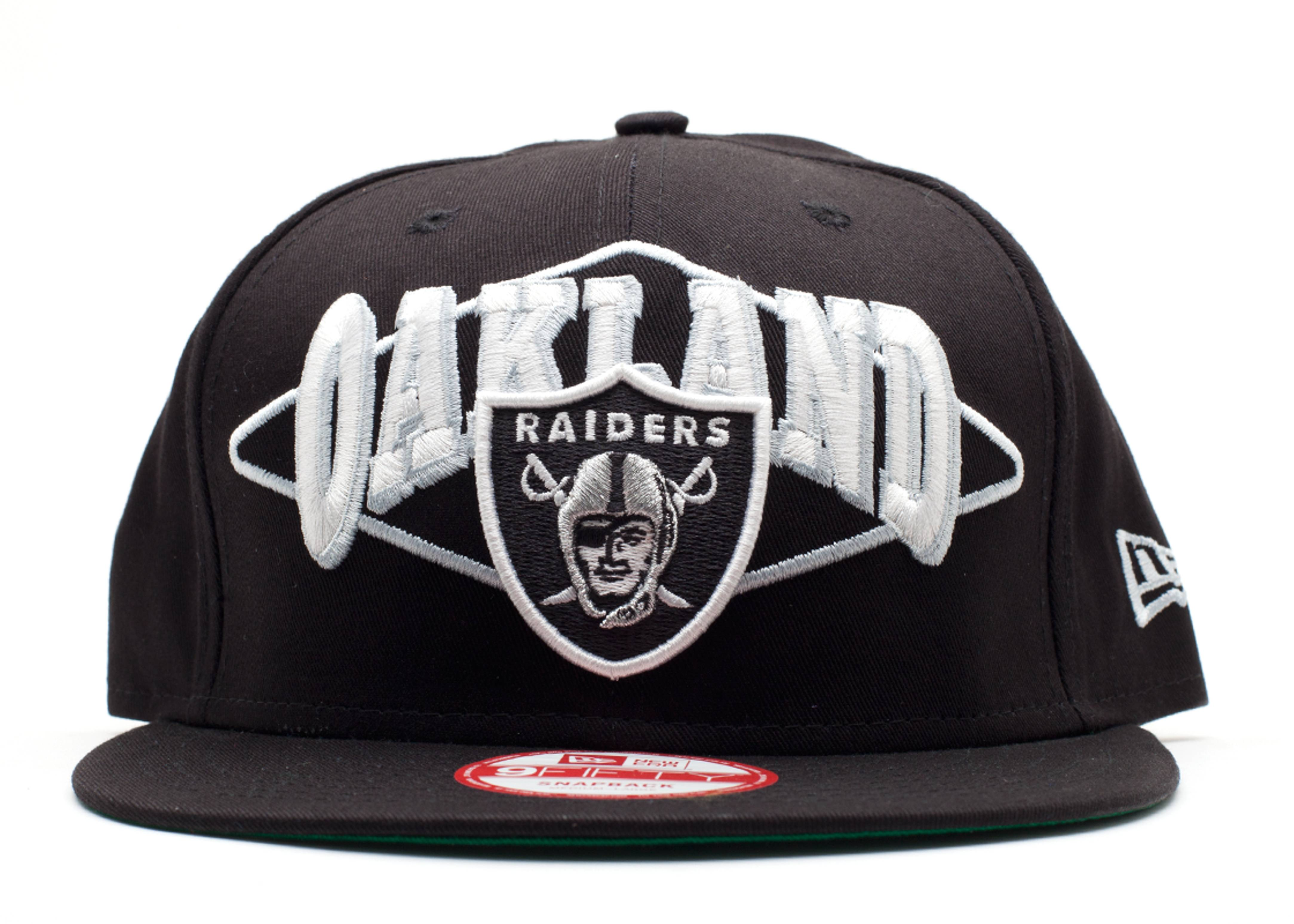 oakland raiders snap-back