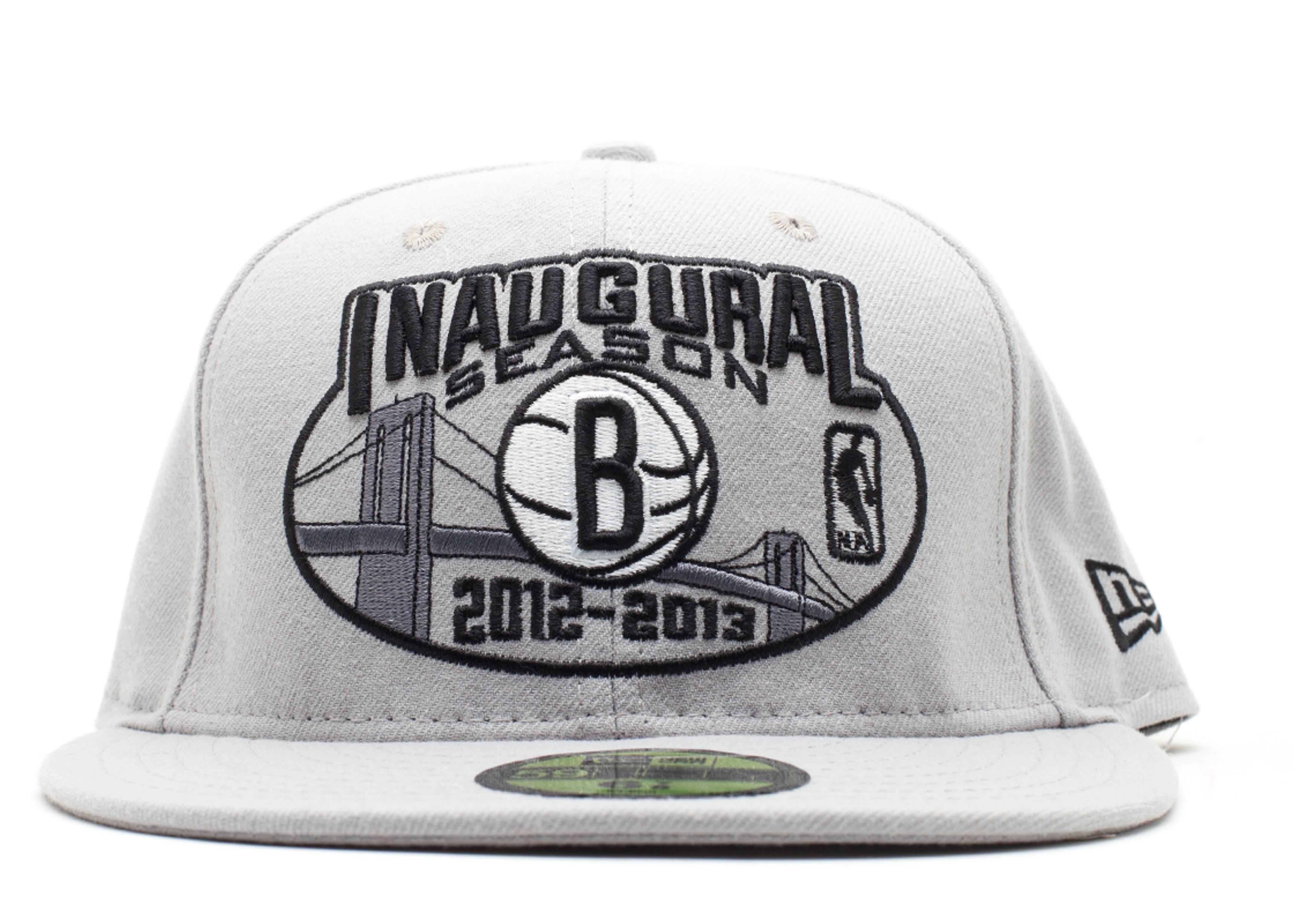 """brooklyn nets fitted """"inaugural season 2012-2013"""""""
