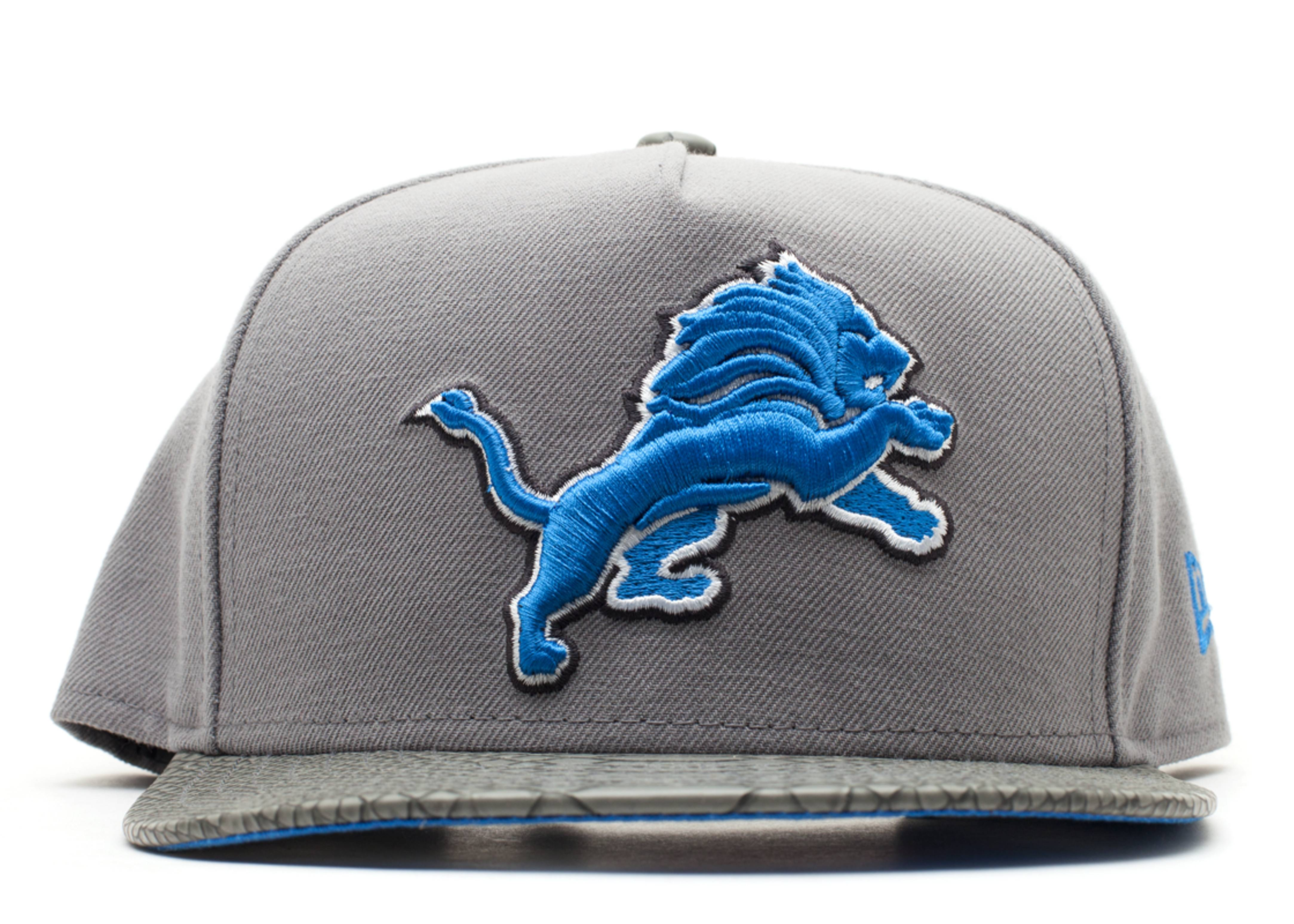 """detroit lions strap-back """"snake"""""""