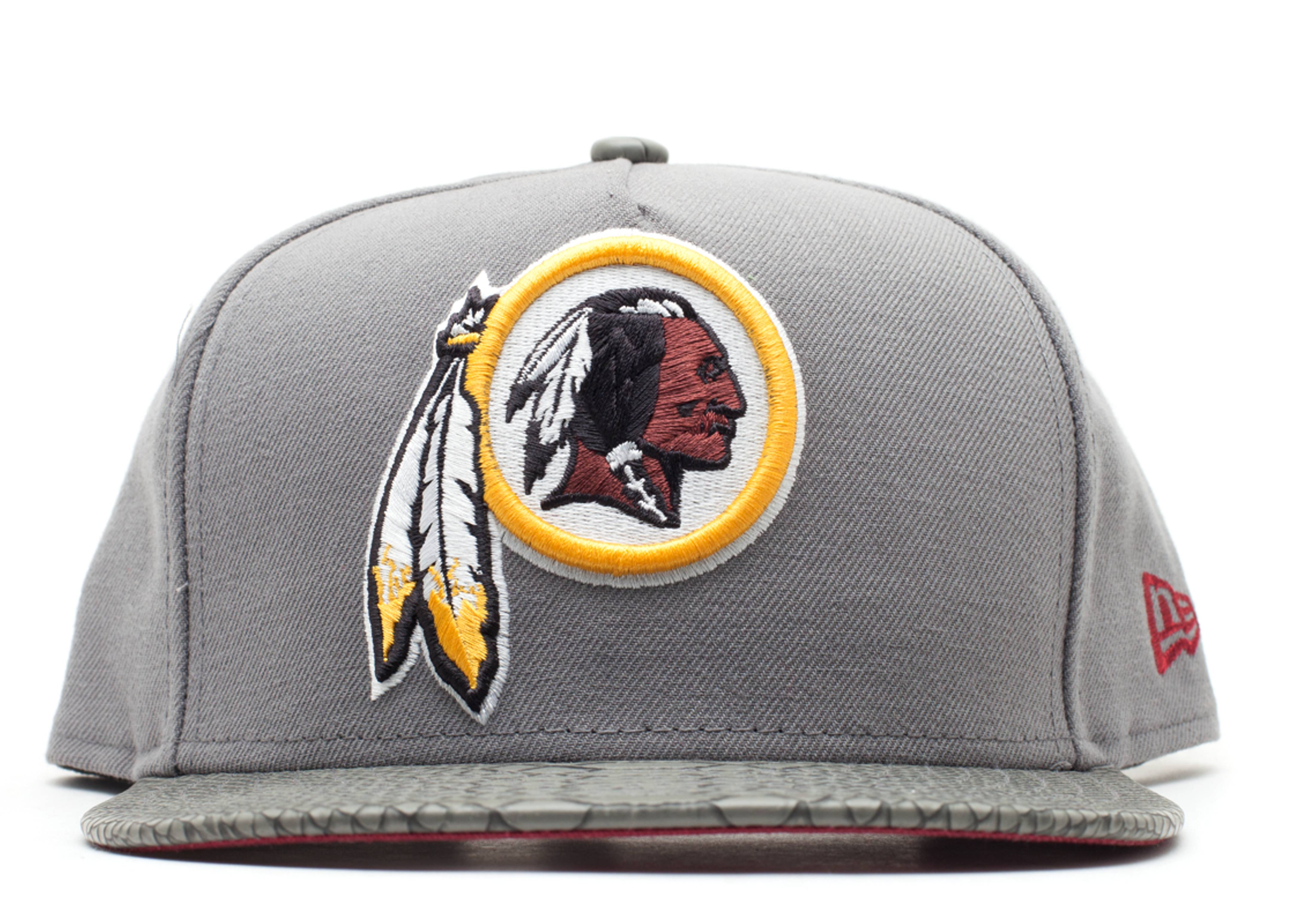 "washington redskins strap-back ""snake"""
