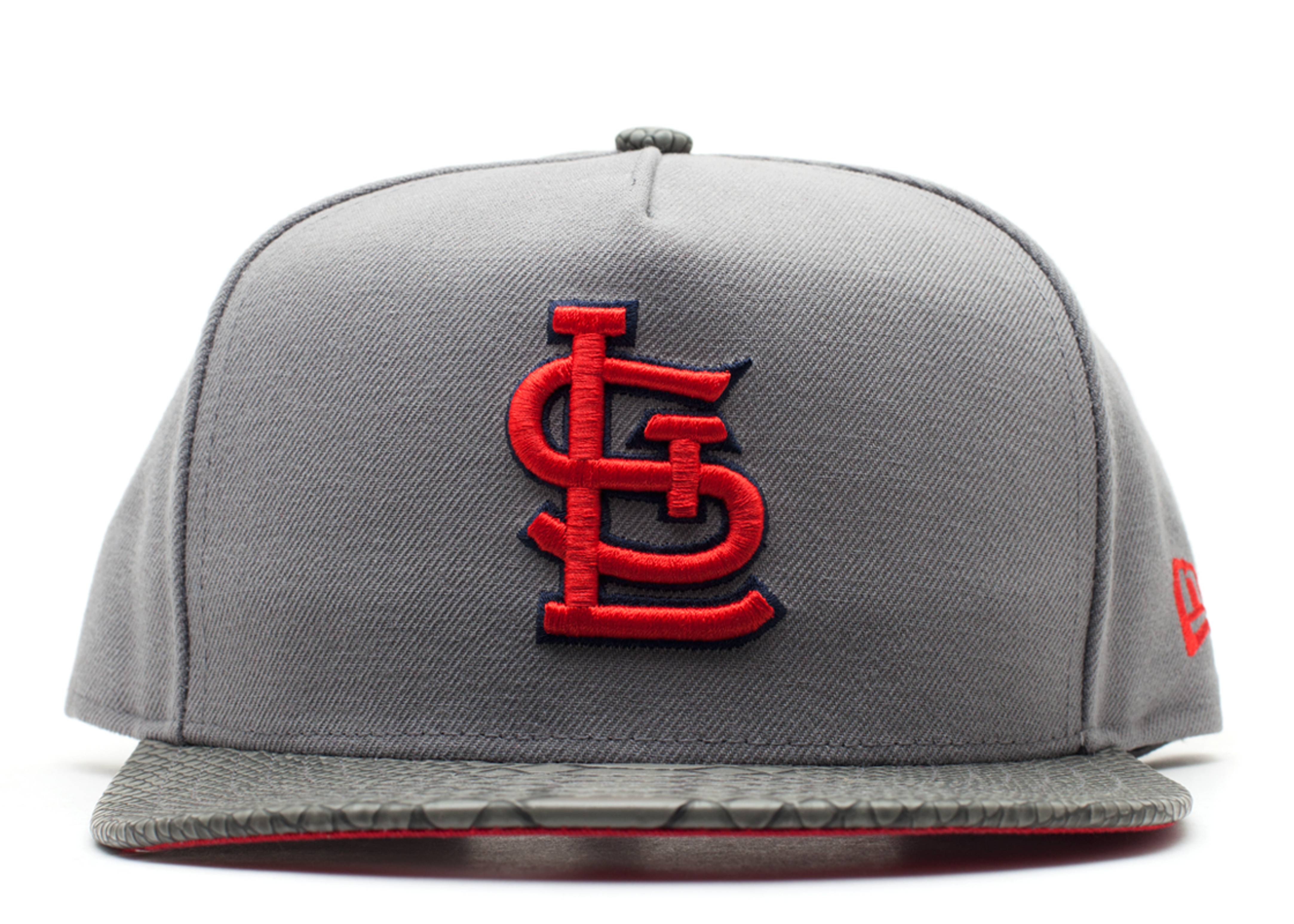 "st.louis cardinals strap-back ""snake"""