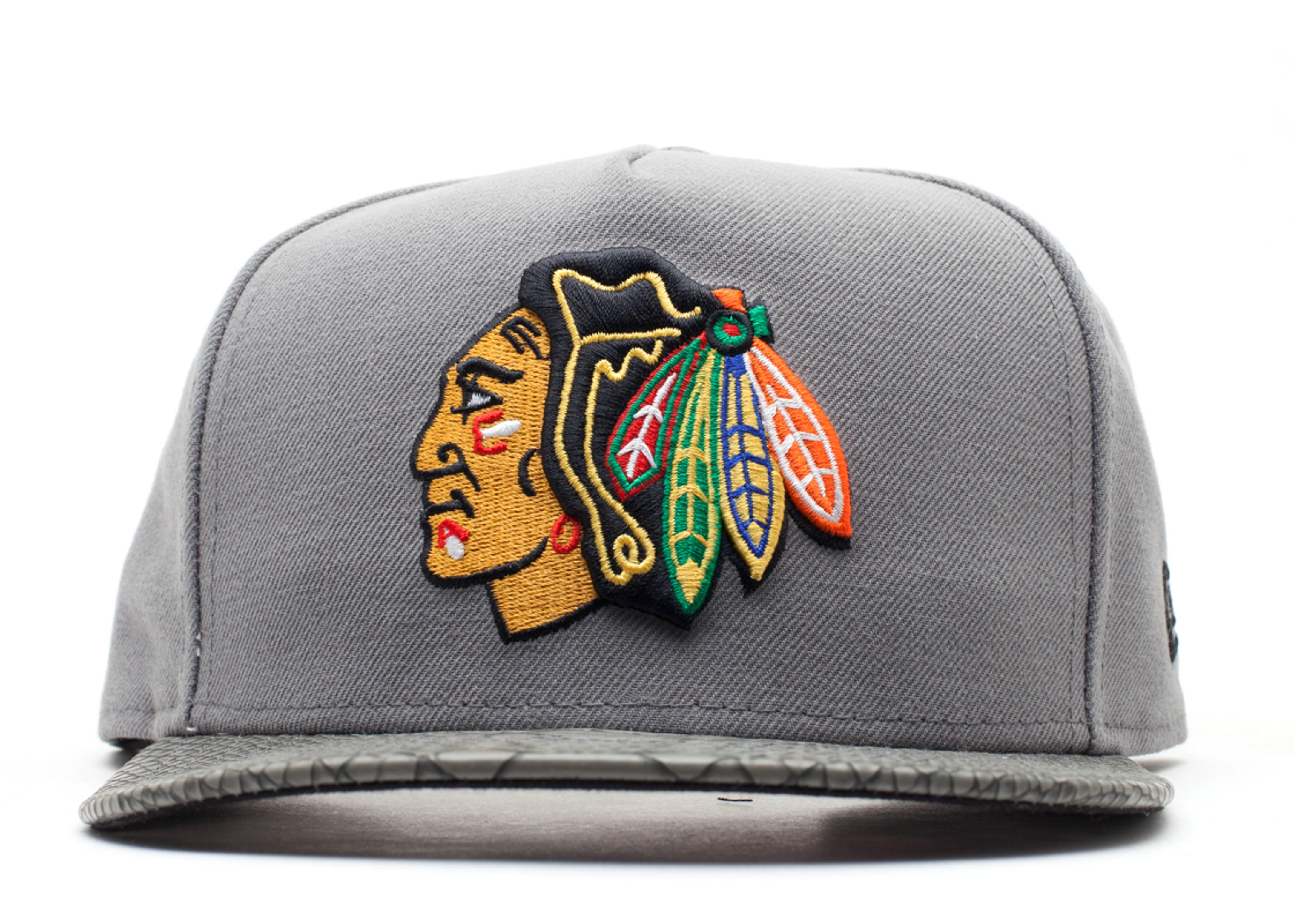 """chicago blackhawks strap-back """"snake"""""""
