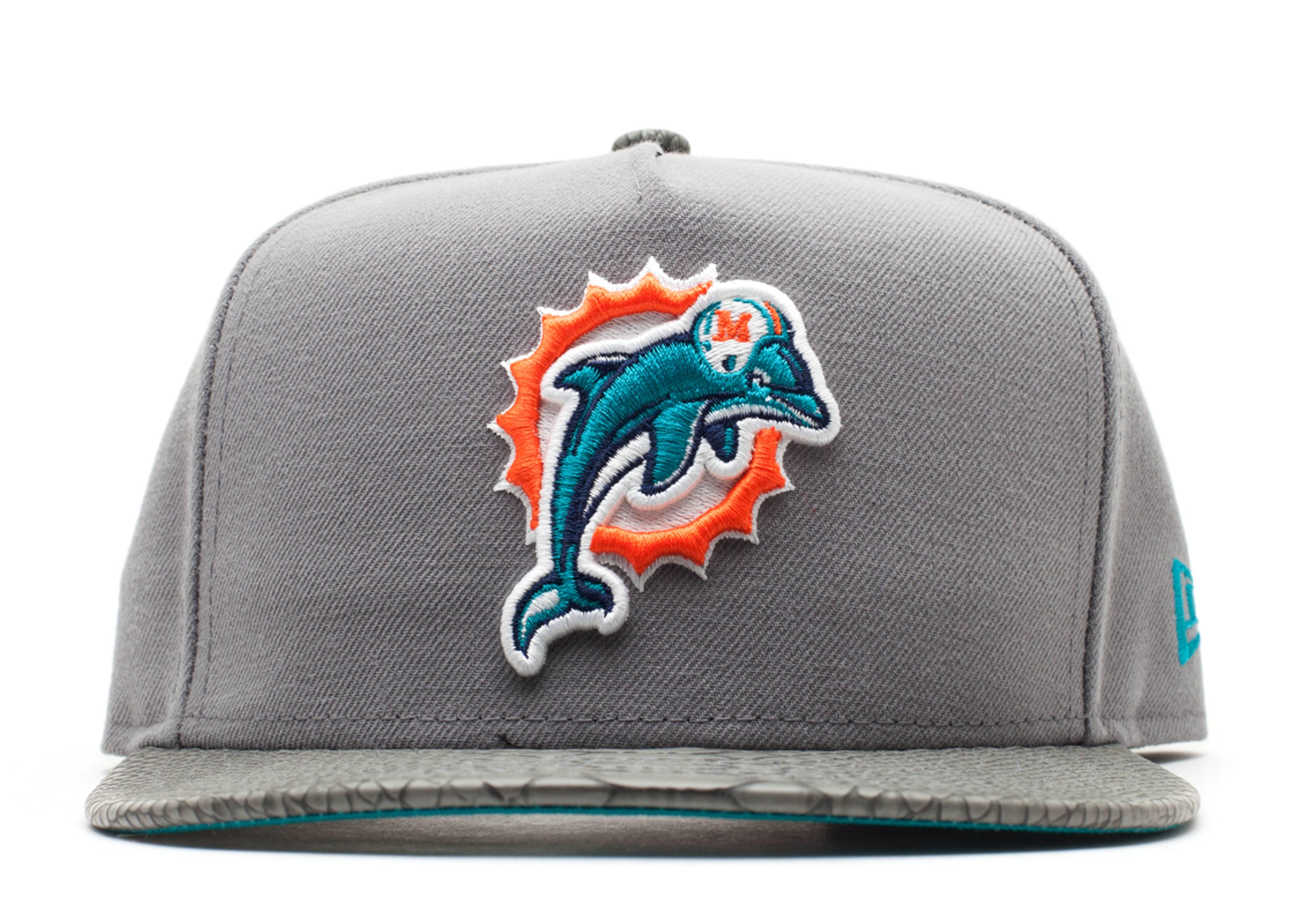 "miami dolphins strap-back ""snake"""