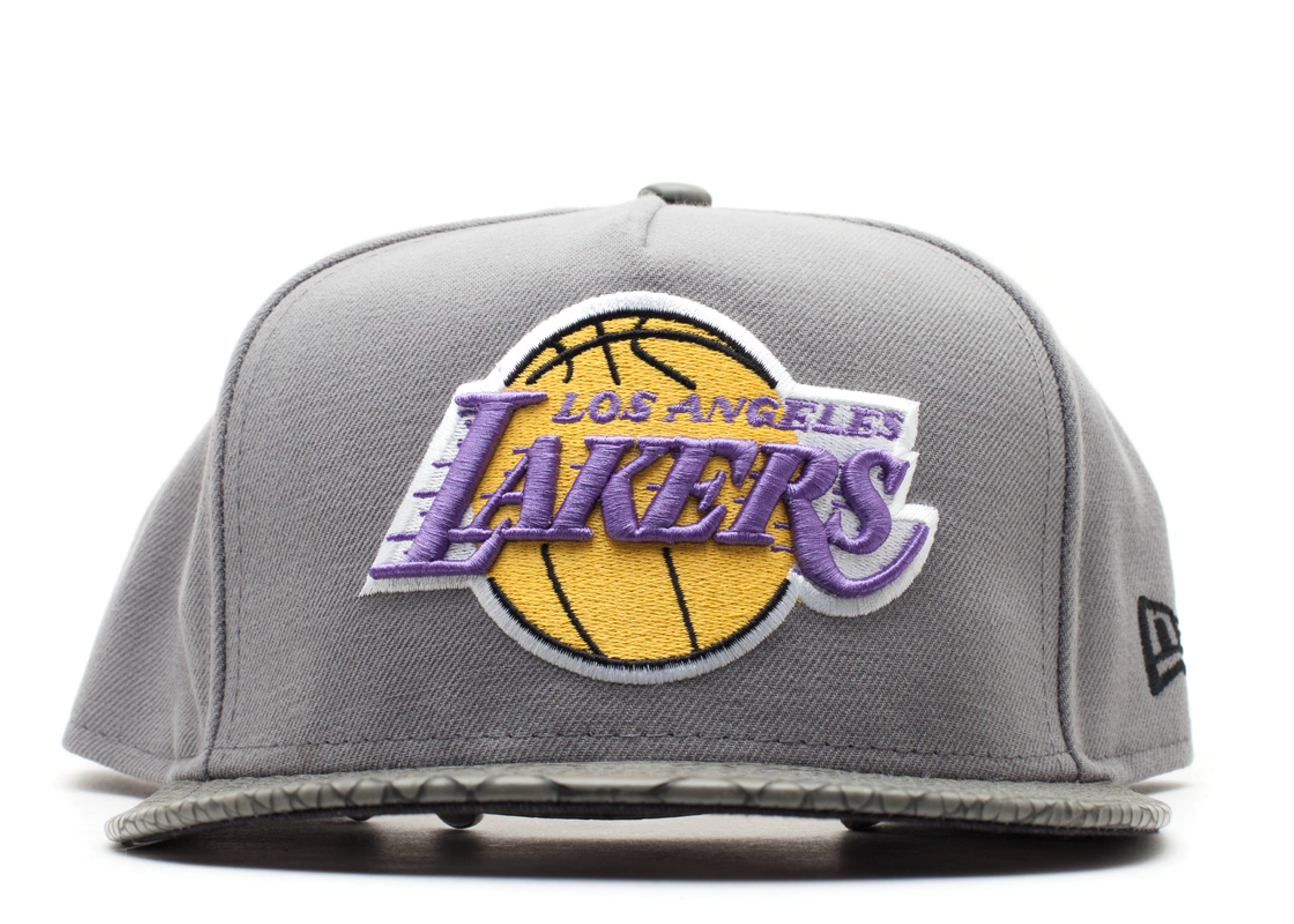 """los angeles lakers strap-back """"snake"""""""