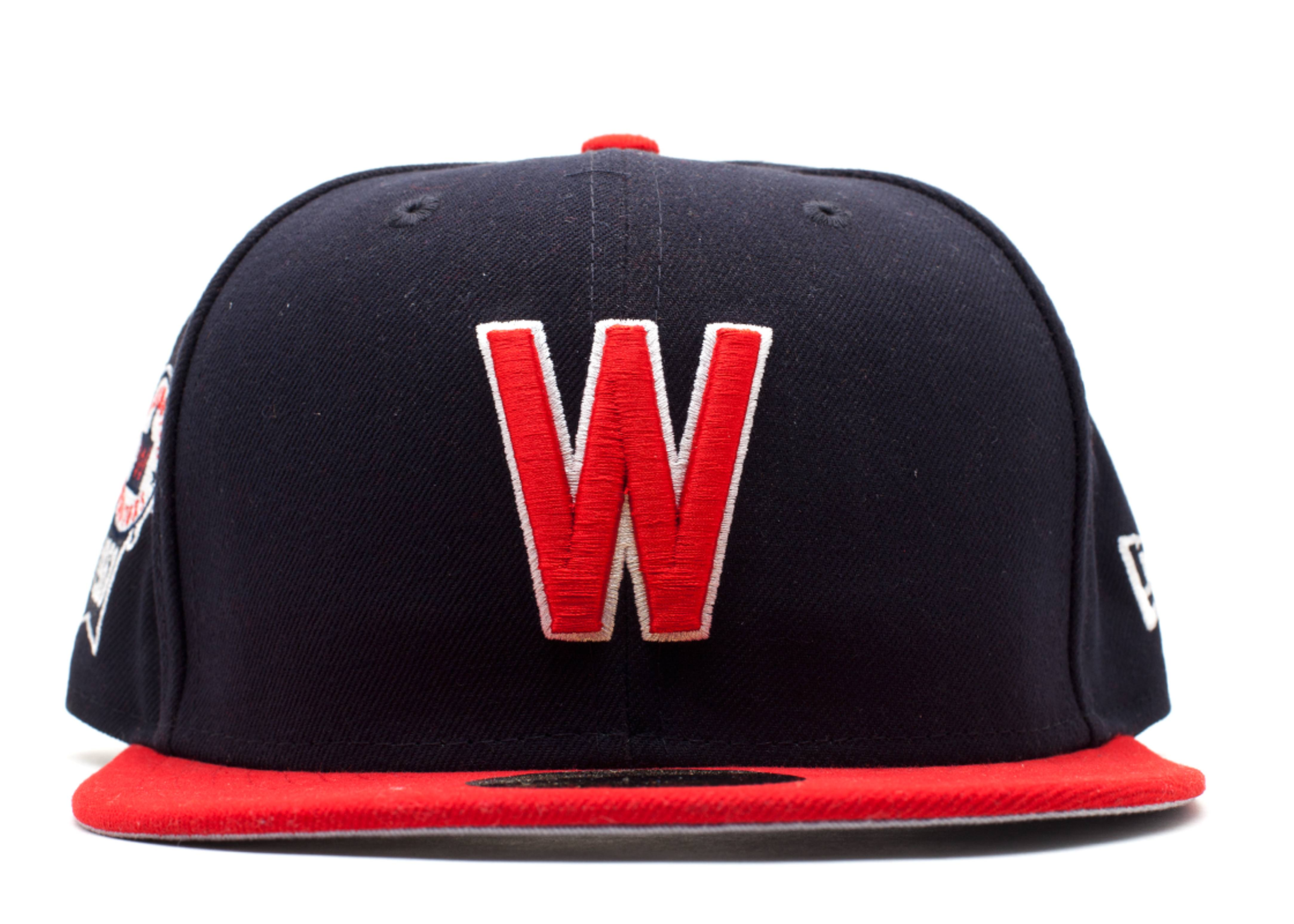 "washington senators fitted ""side patch"""